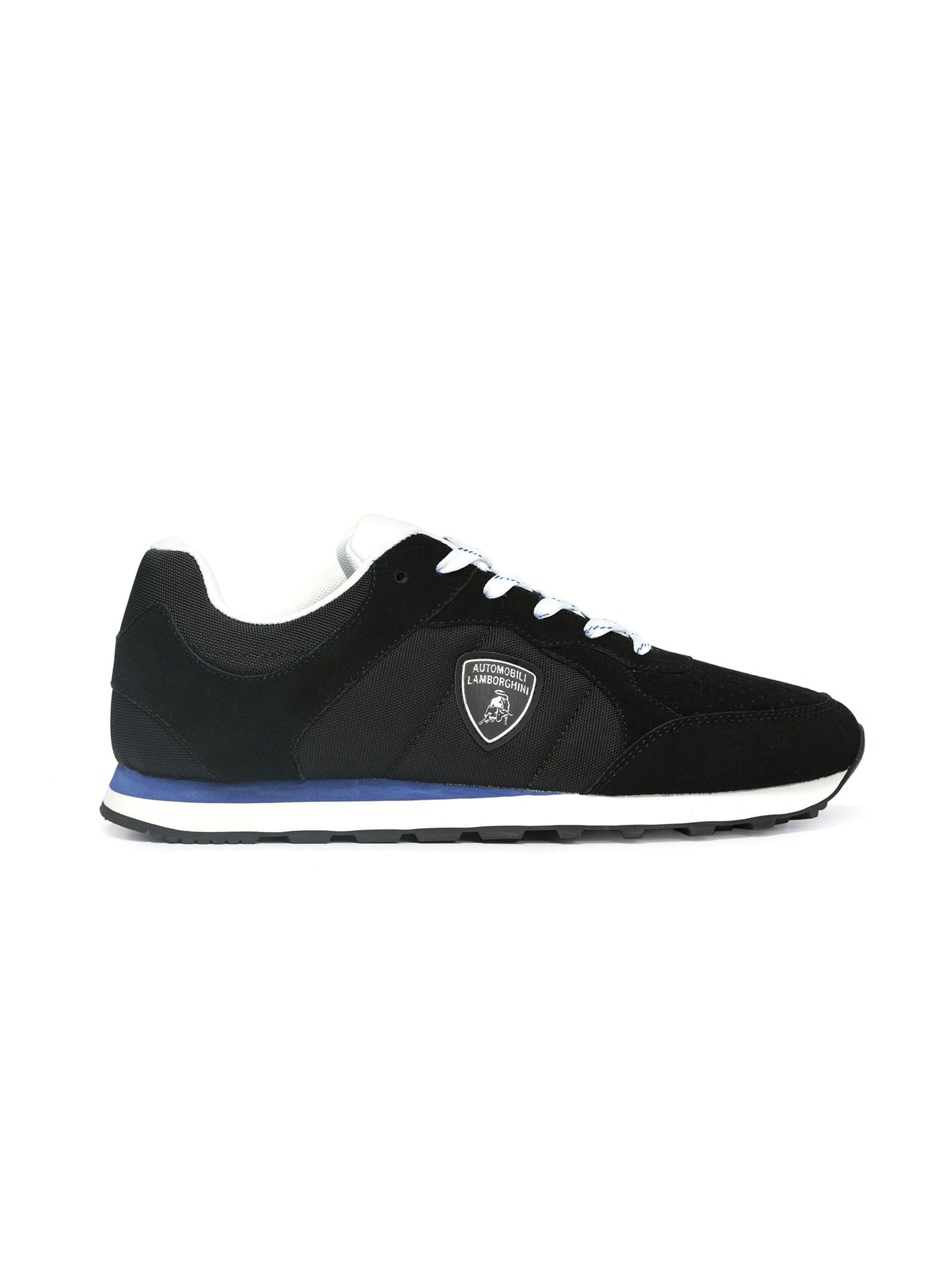 Suede Mesh Sneakers