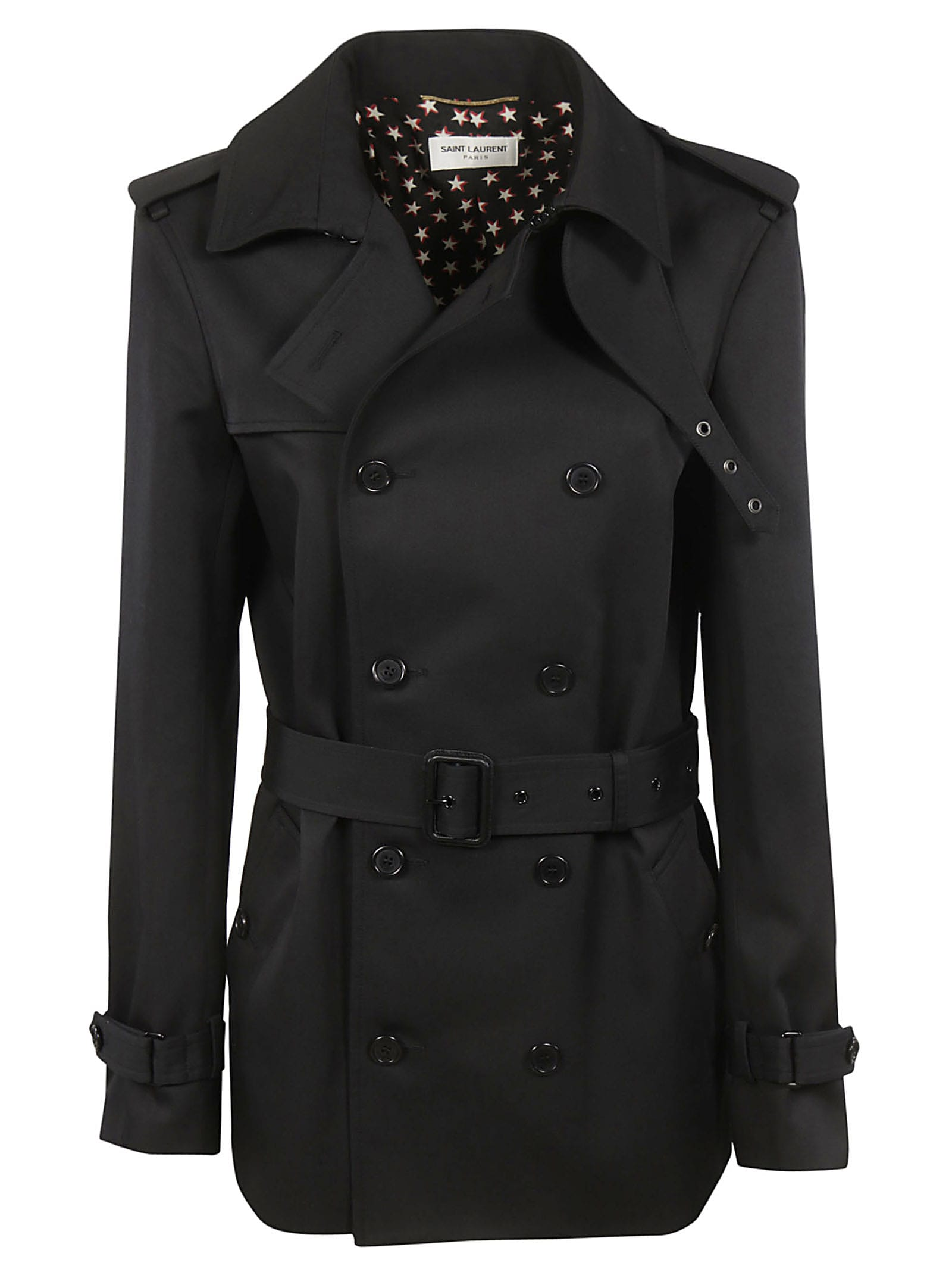 Saint Laurent Double Breasted Trench
