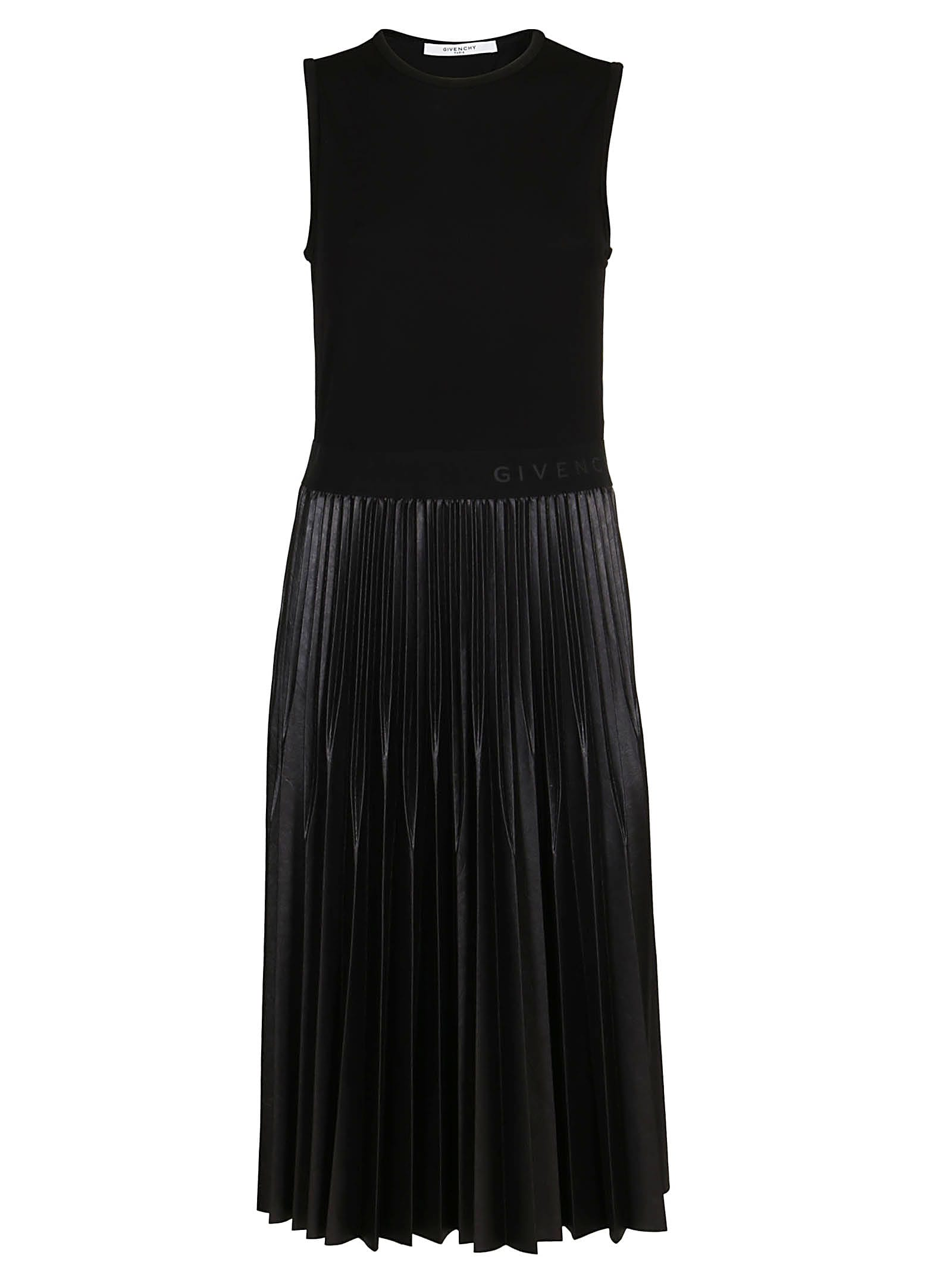Givenchy Pleated Mid-lenght Dress