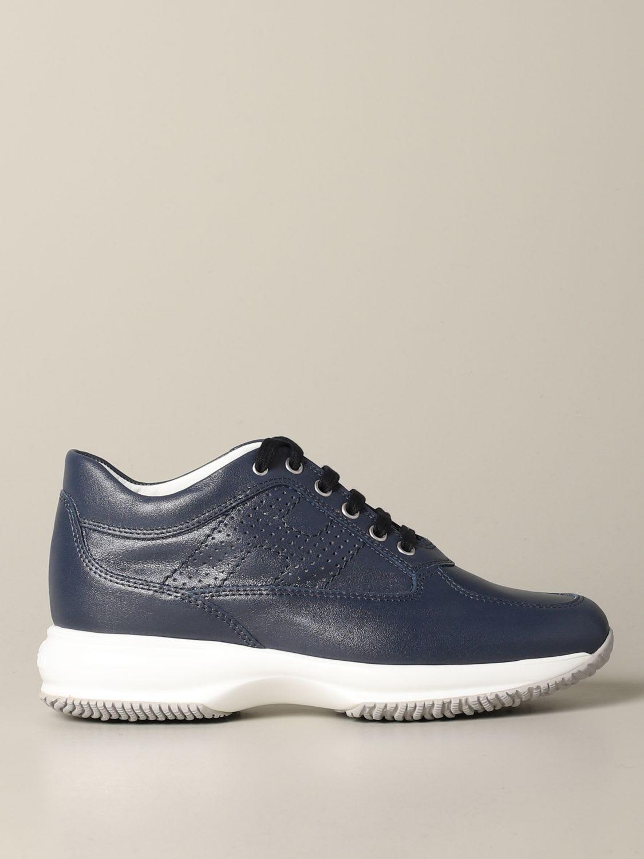 hogan leather sneakers