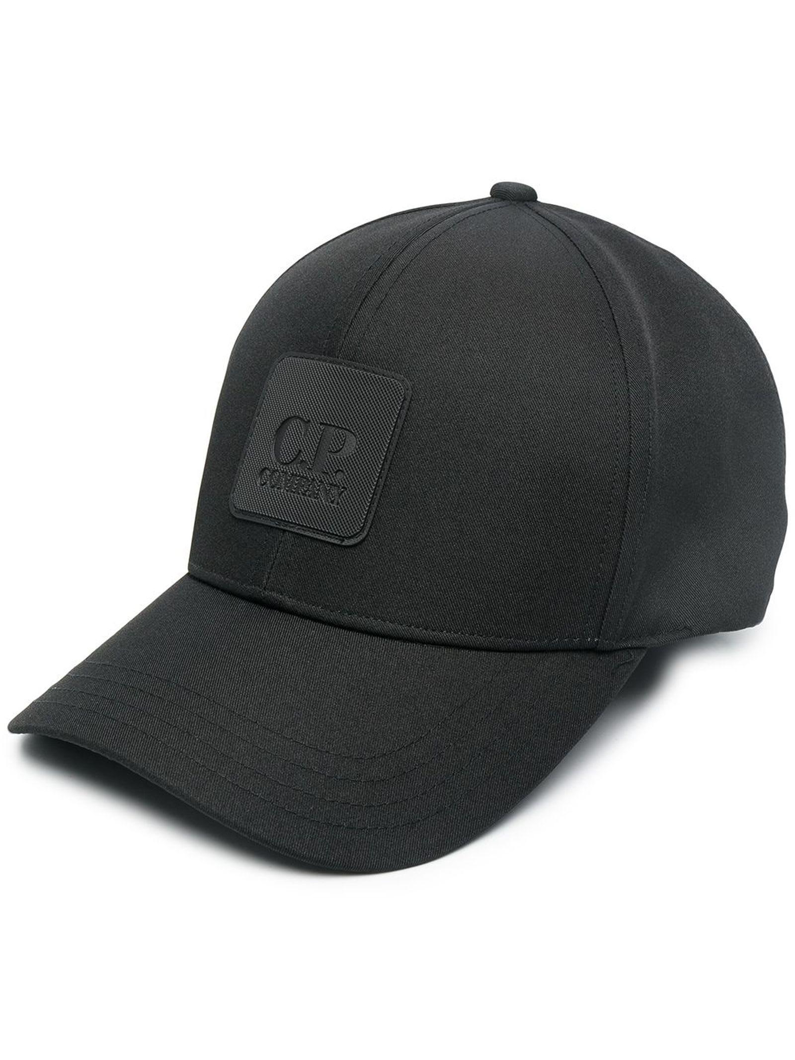 C.p. Company METROPOLIS SERIES LOGO BADGE CAP