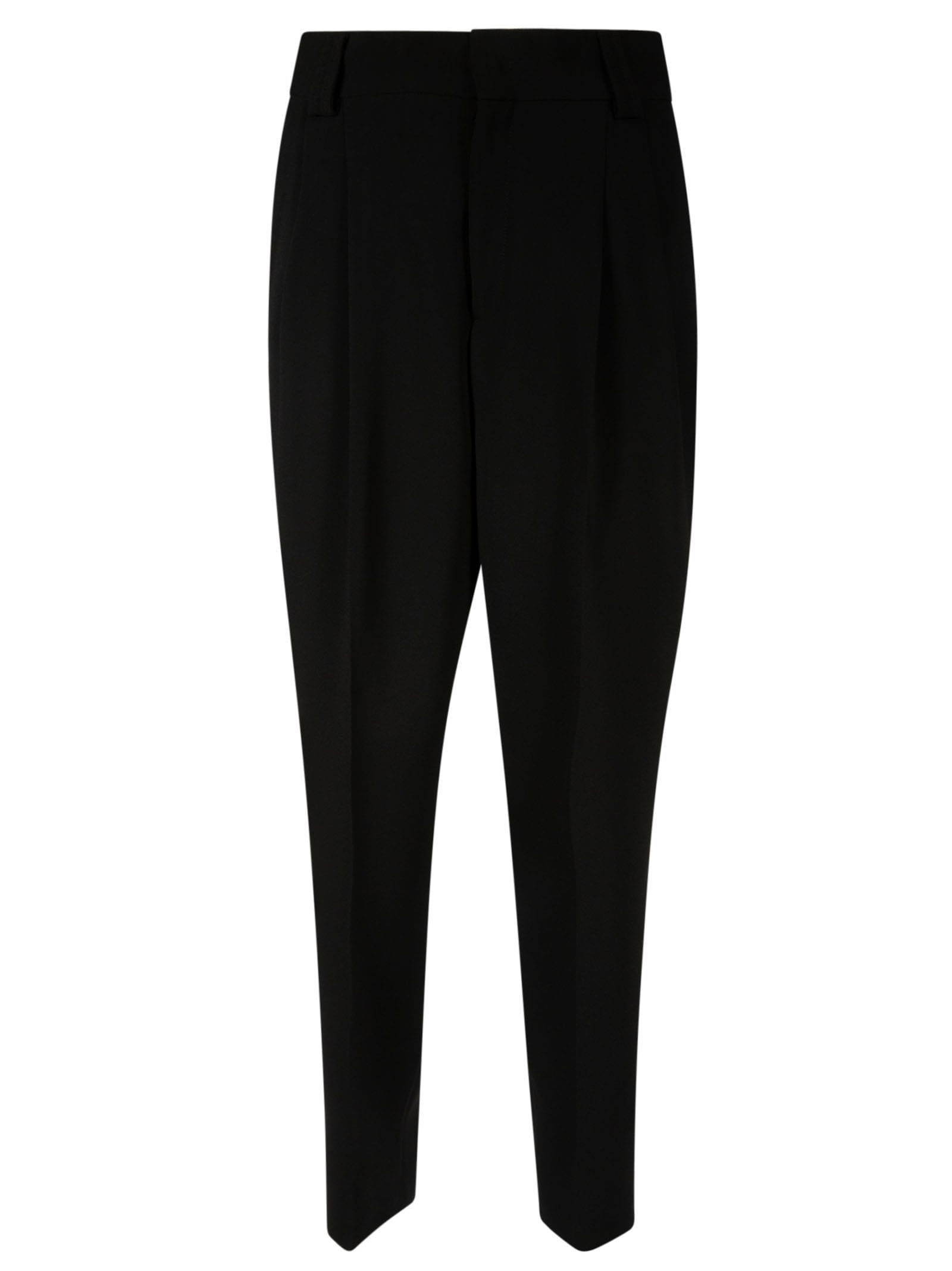 Red Valentino Pants CLASSIC HIGH WAIST TROUSERS
