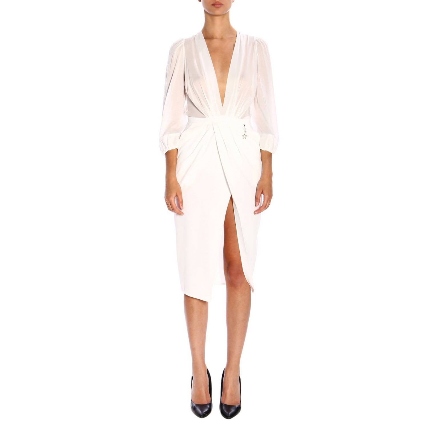 Elisabetta Franchi Dress Elisabetta Franchi Dress With Tear