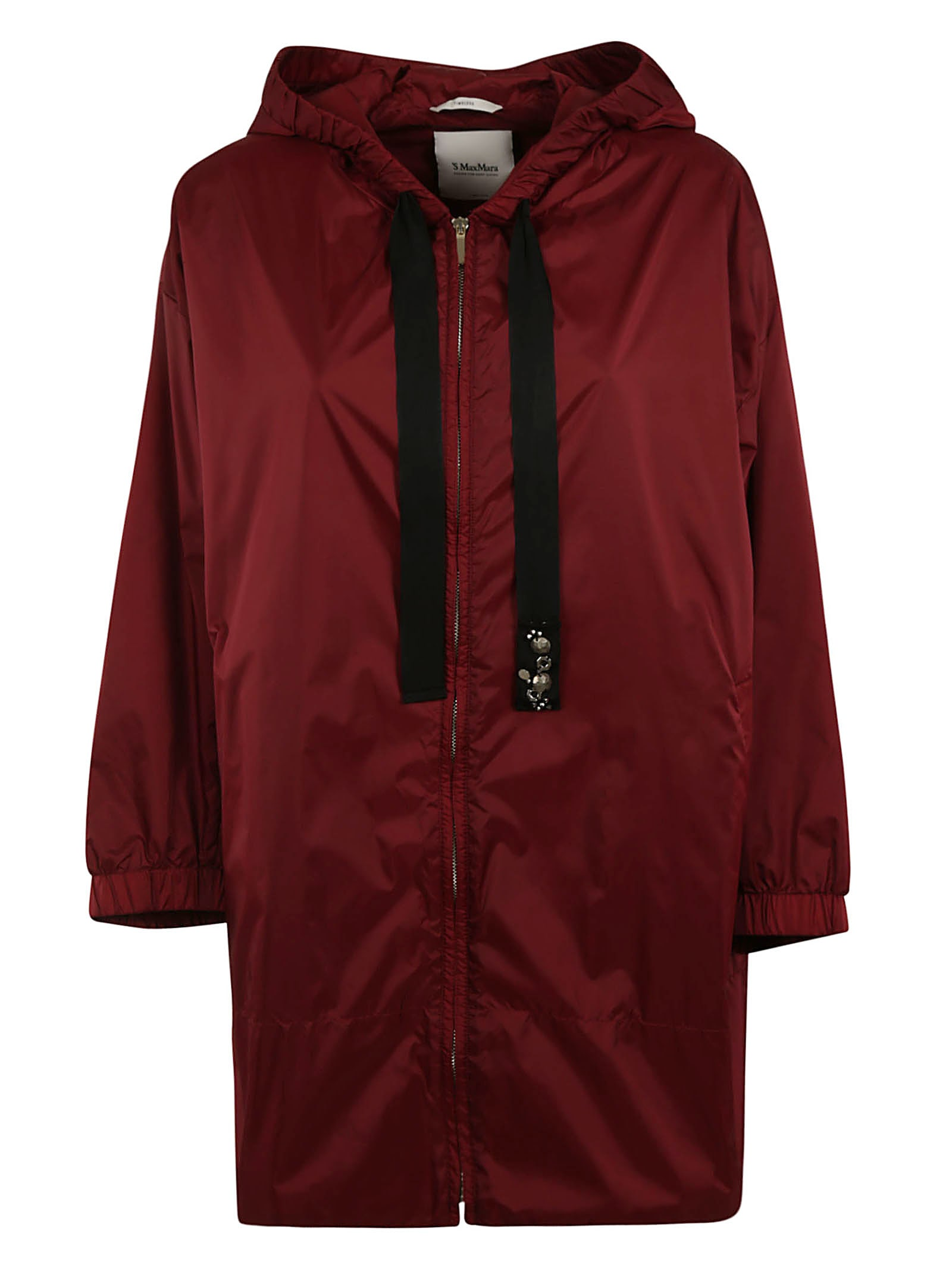 S Max Mara Here is The Cube Zipped Parka