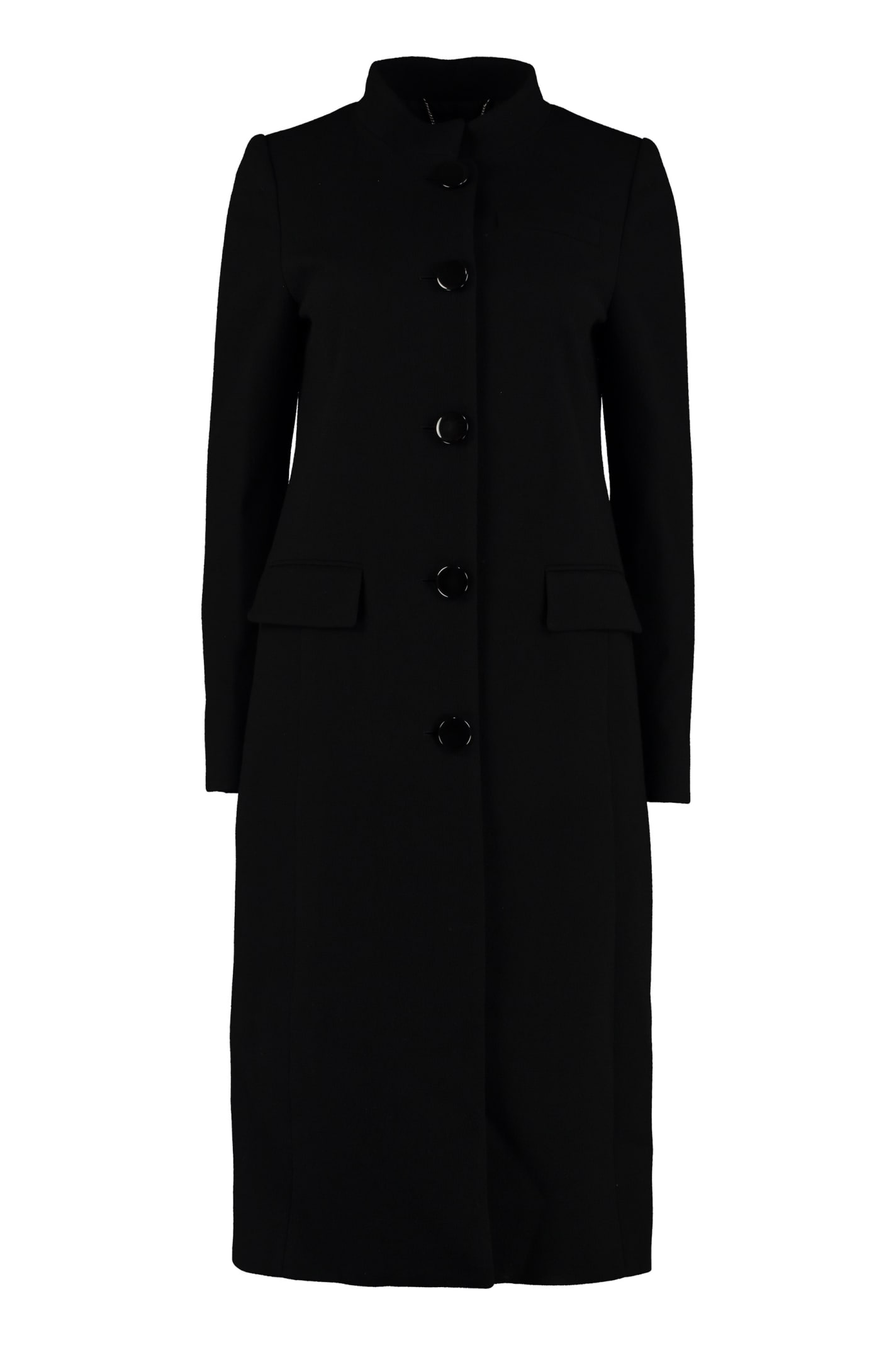 Givenchy Single-breasted Wool Coat