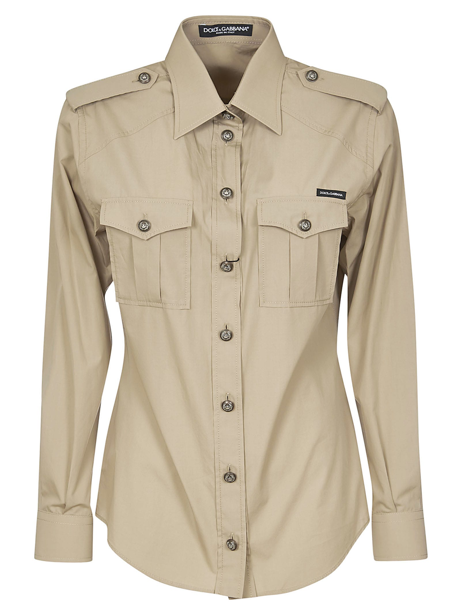 Dolce & Gabbana Slim-fit Army Shirt