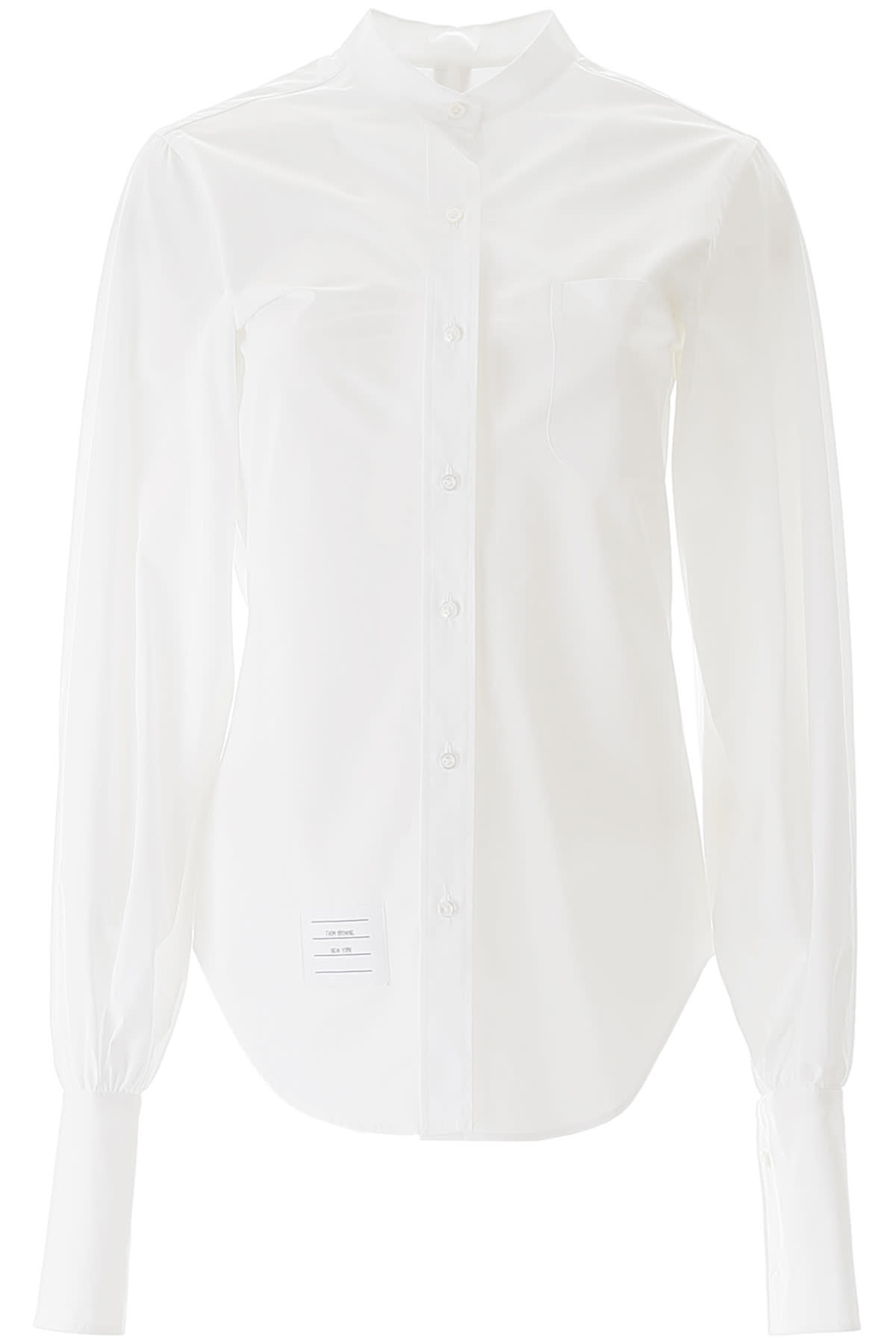 Thom Browne Mandarin Collar Shirt