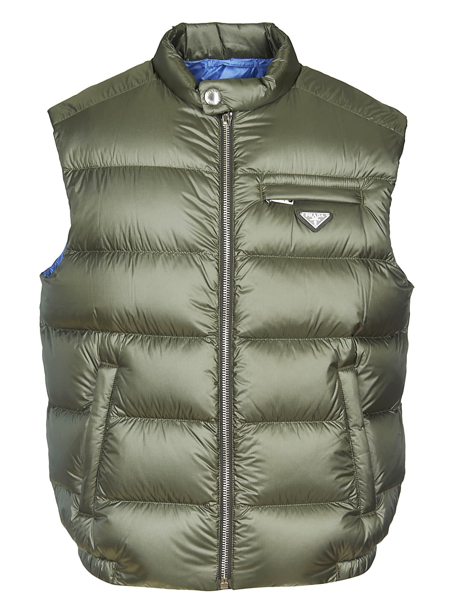 Ripstop Padded Gilet from PradaComposition: 100% Polyamide