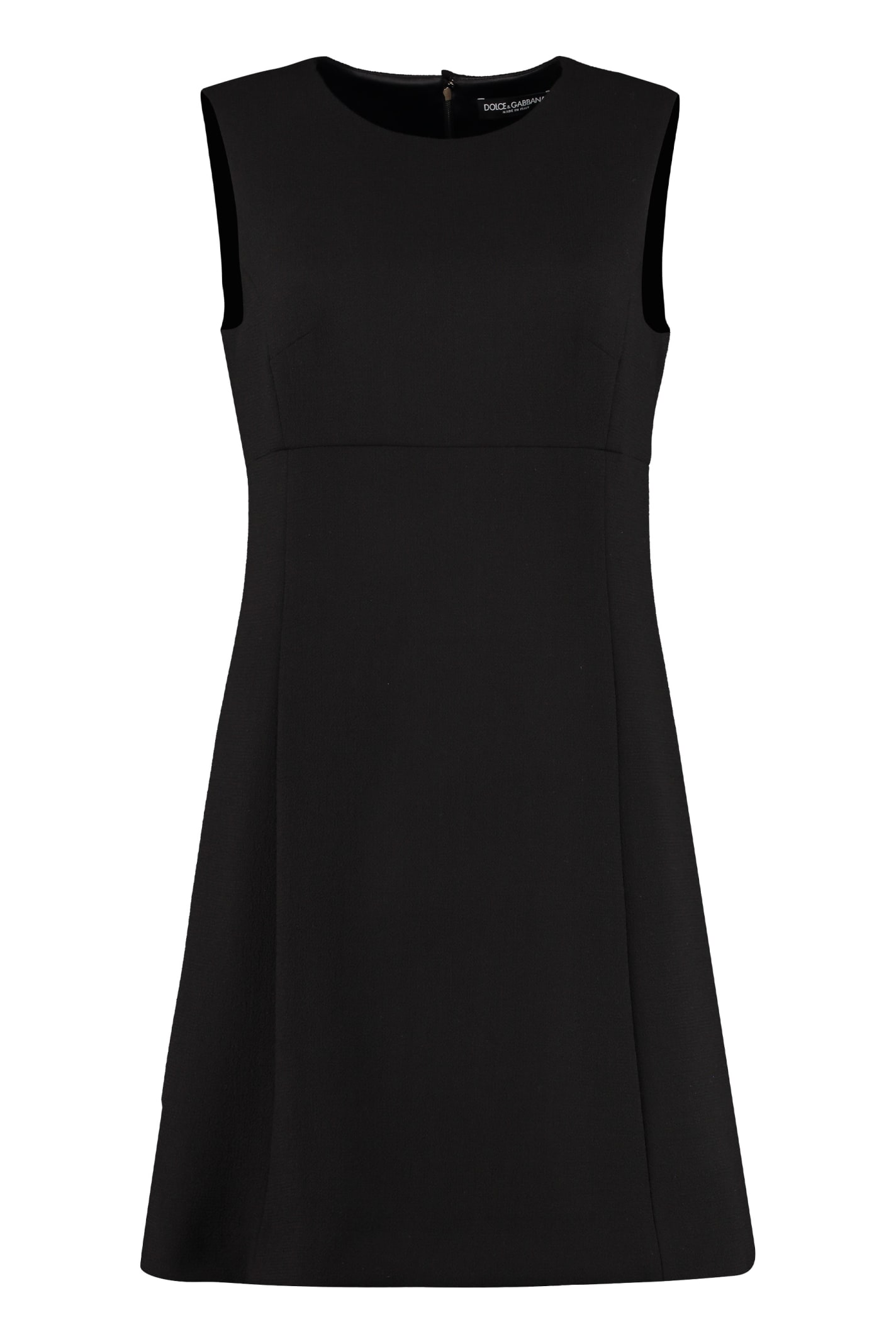 Dolce & Gabbana Wool Sheath Dress