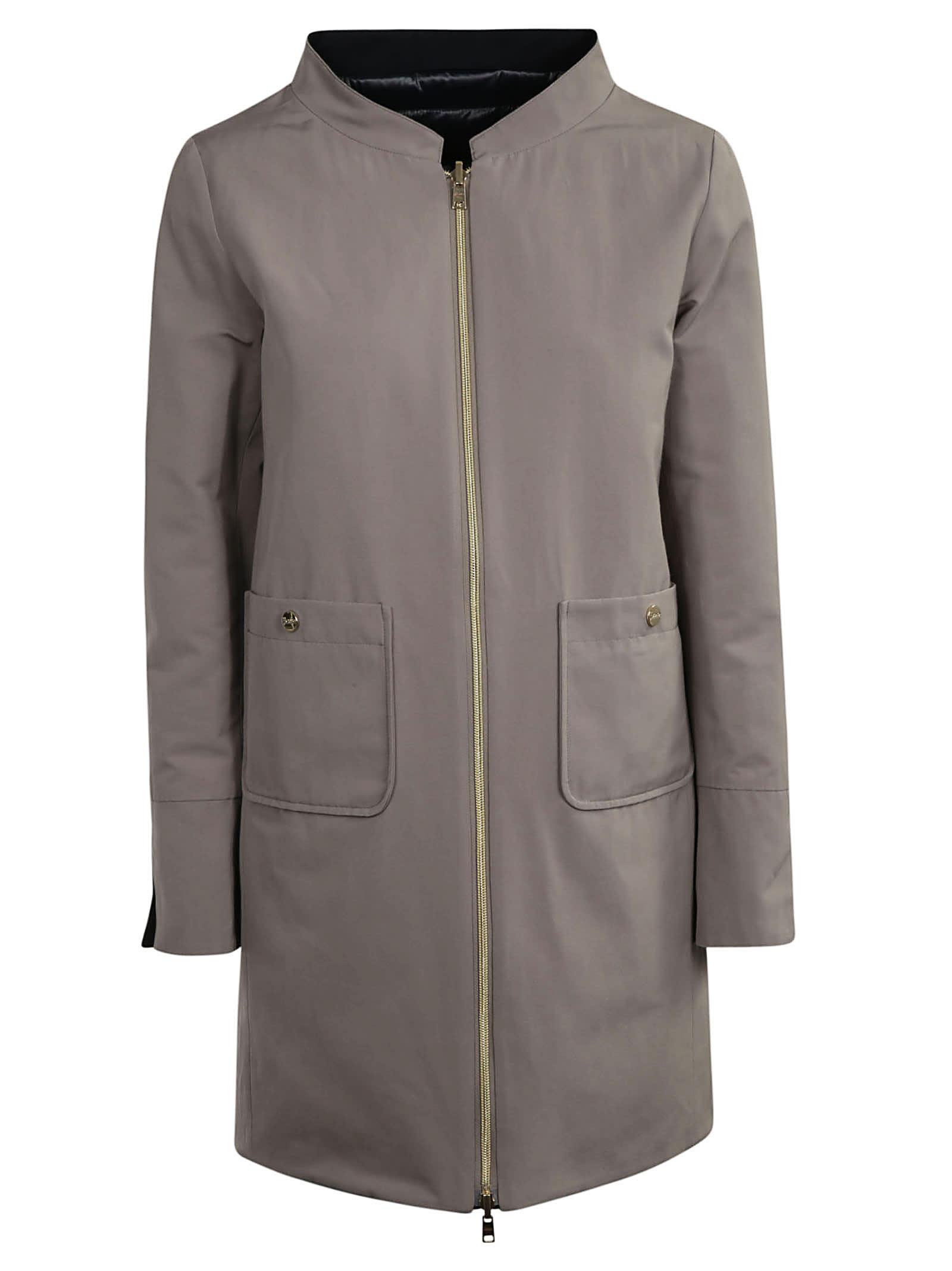 Herno Zipped Coat