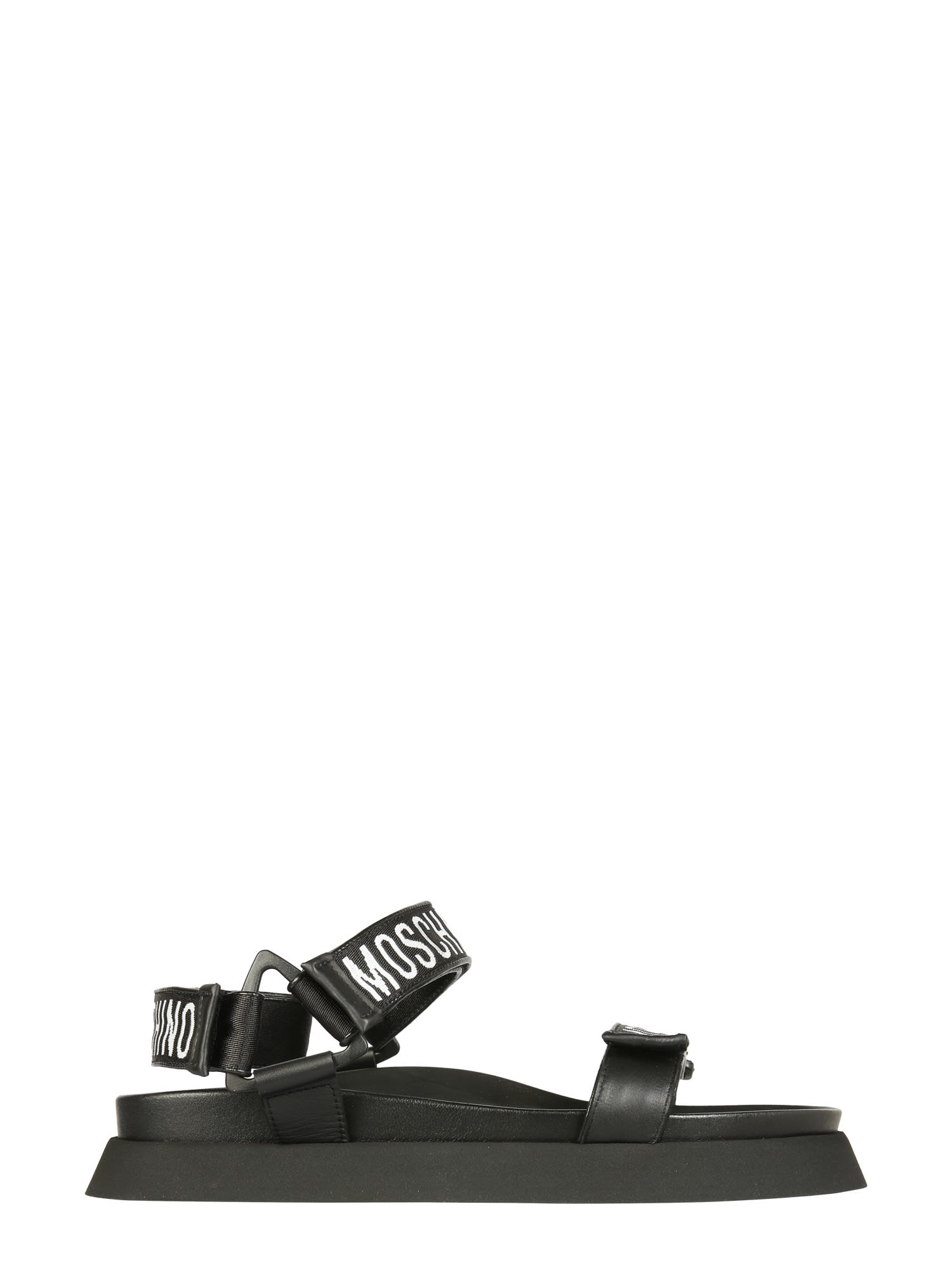 Moschino SANDALS WITH STRAP