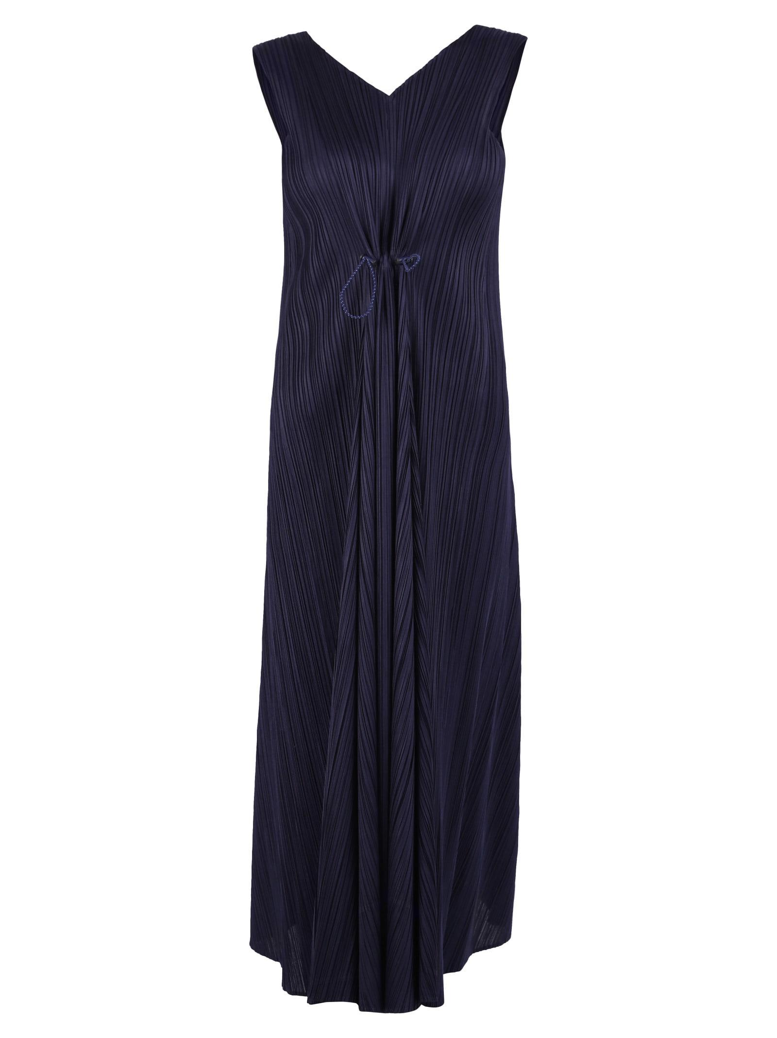 Buy Issey Miyake Sleeveless Dress online, shop Issey Miyake with free shipping