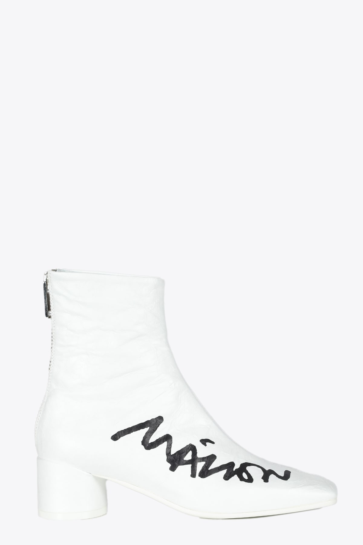 Mm6 Maison Margiela Shoes LOGO ANKLE BOOTS