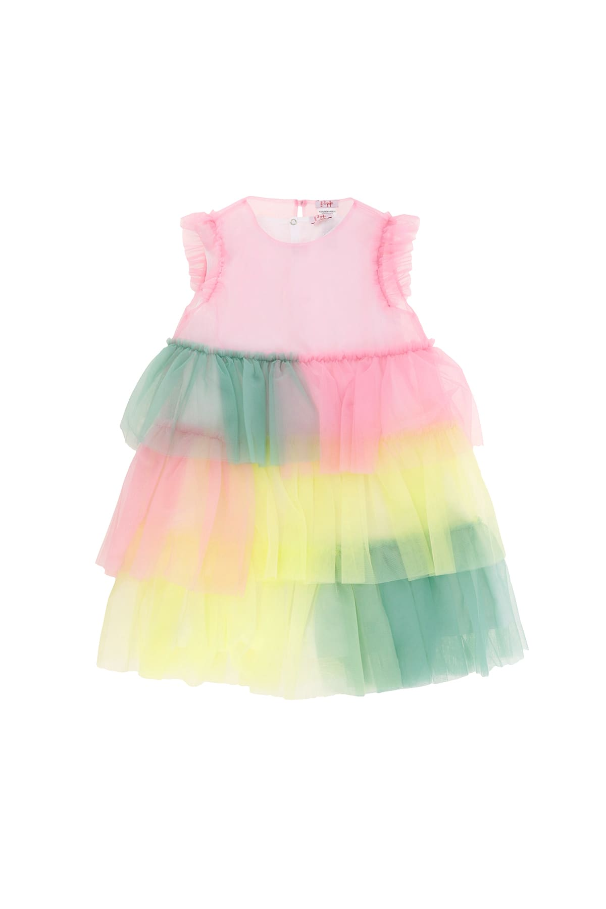 Buy Il Gufo Flounce Dress With Tulle online, shop Il Gufo with free shipping