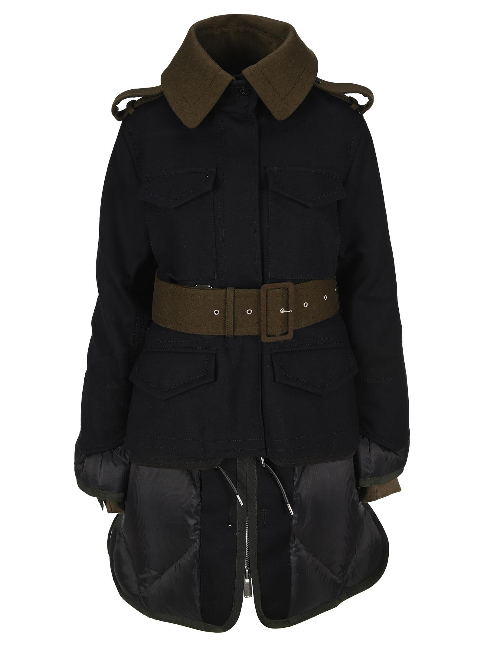 Sacai Belted Coat