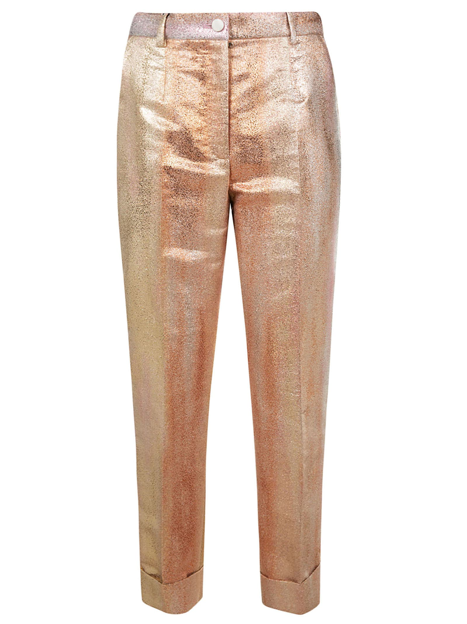 Dolce & Gabbana Metallic Trousers