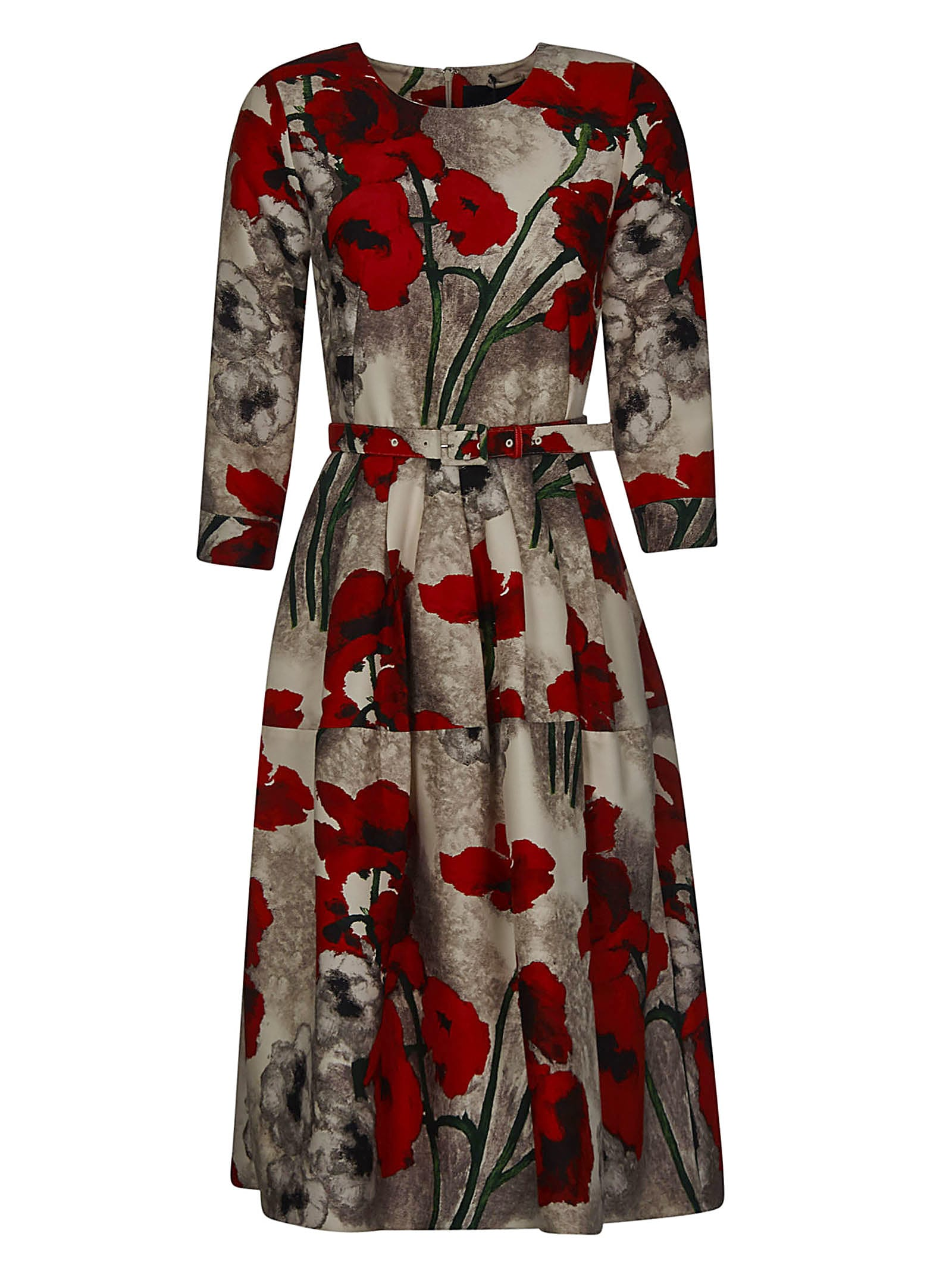 Buy Samantha Sung Floral Belted Dress online, shop Samantha Sung with free shipping