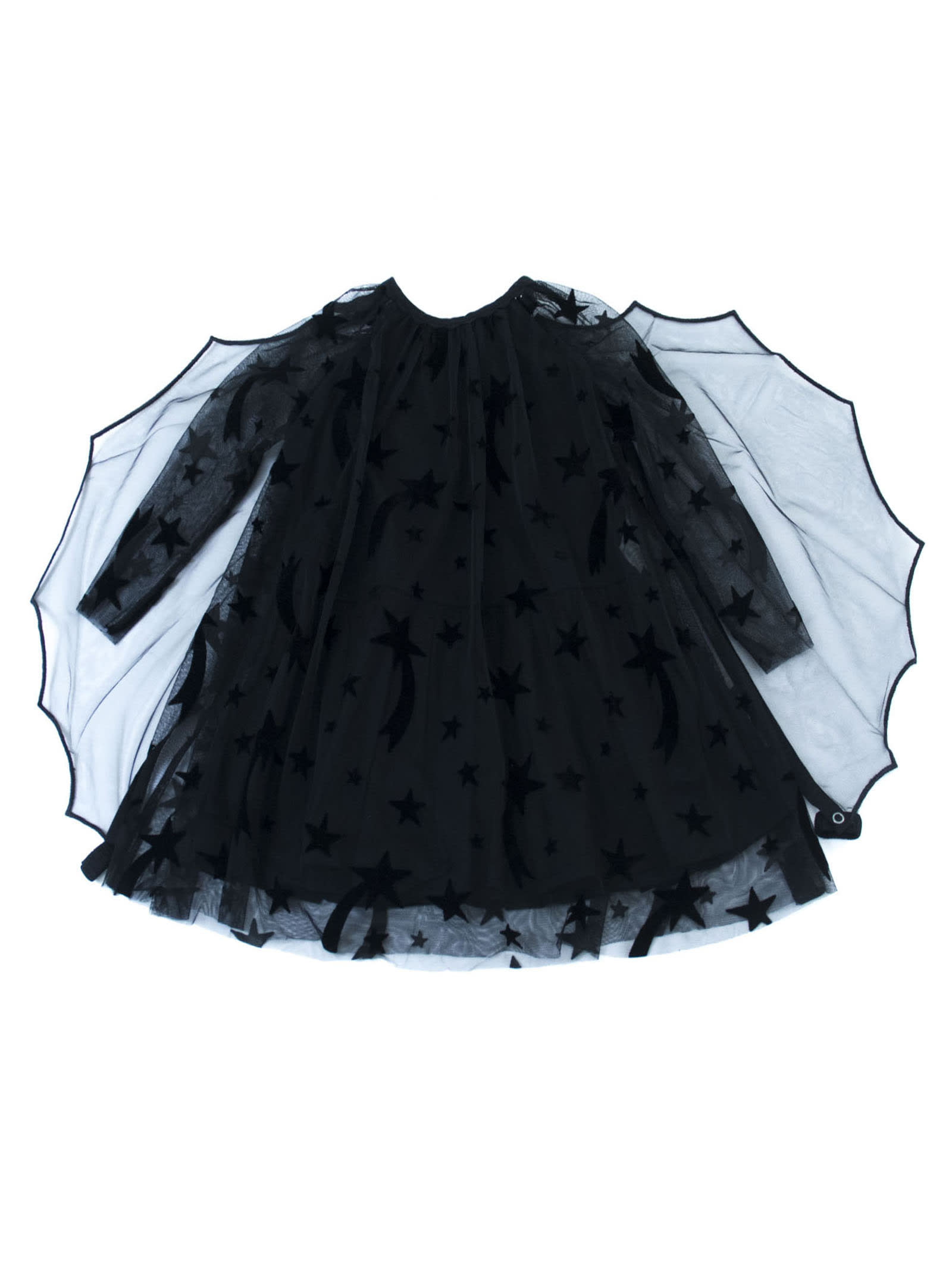 Stella McCartney Black Shoot Stars Dress