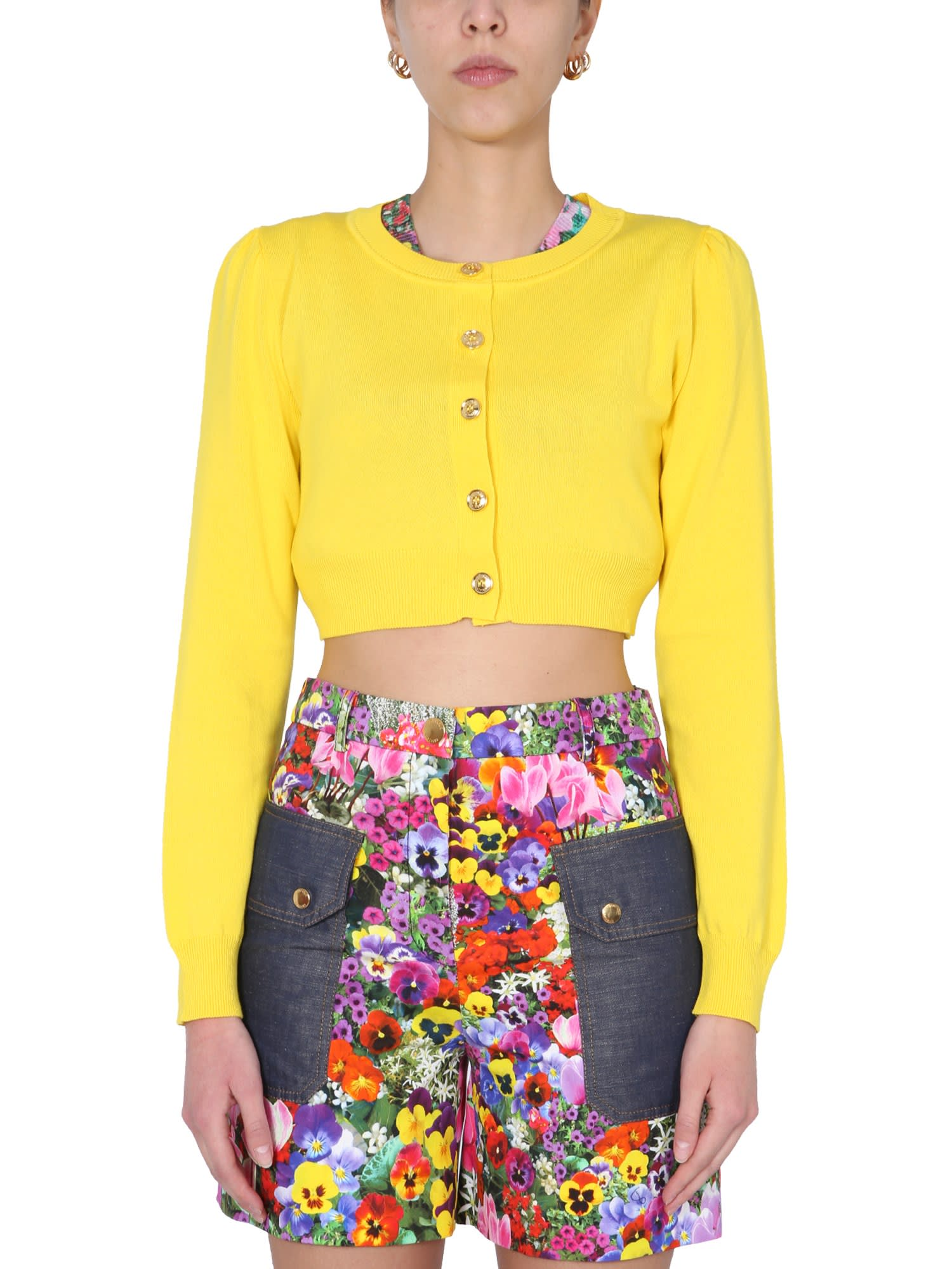 Boutique Moschino CROPPED CARDIGAN