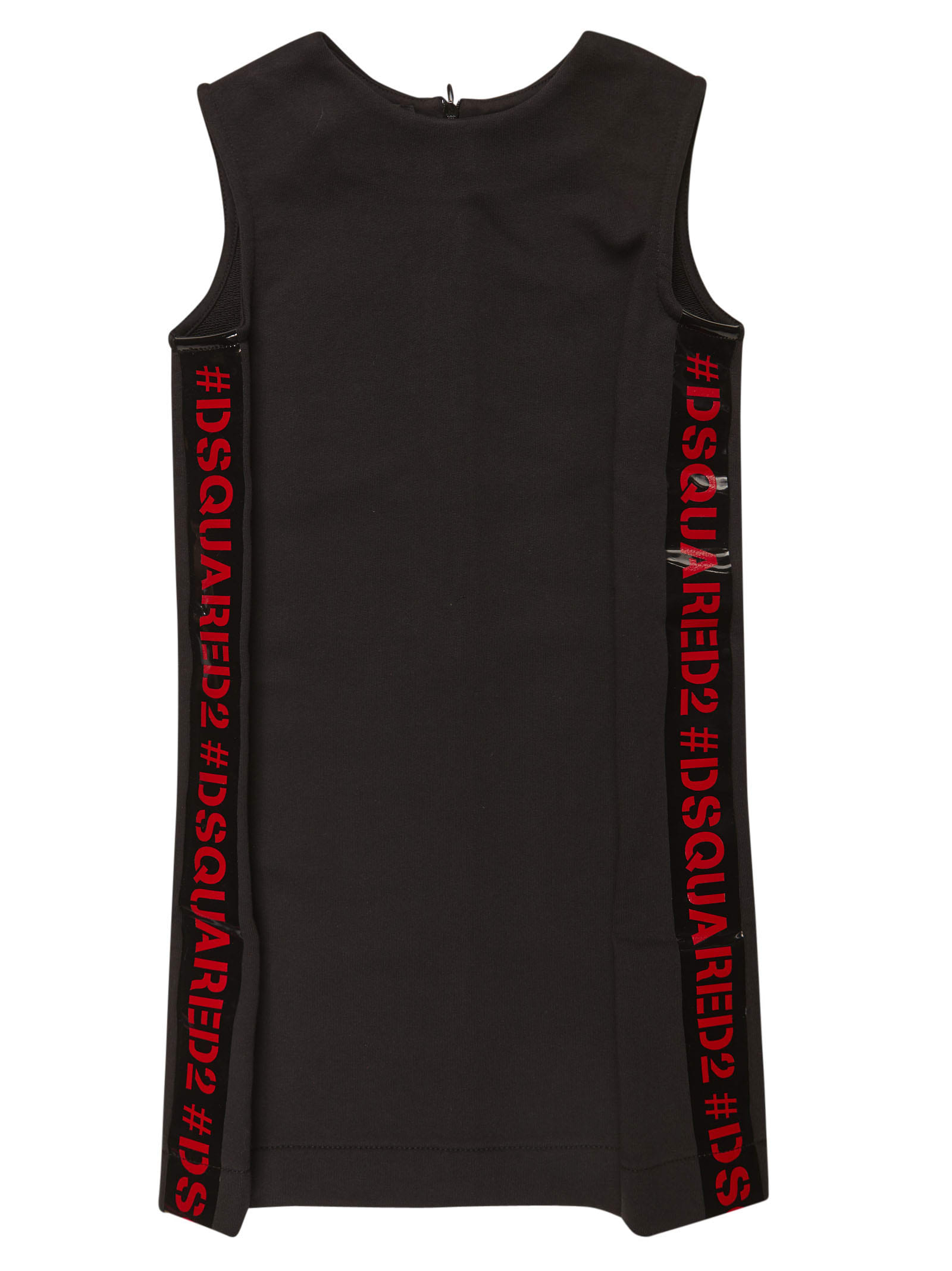 Buy Dsquared2 Side Logo Sleeveless Dress online, shop Dsquared2 with free shipping