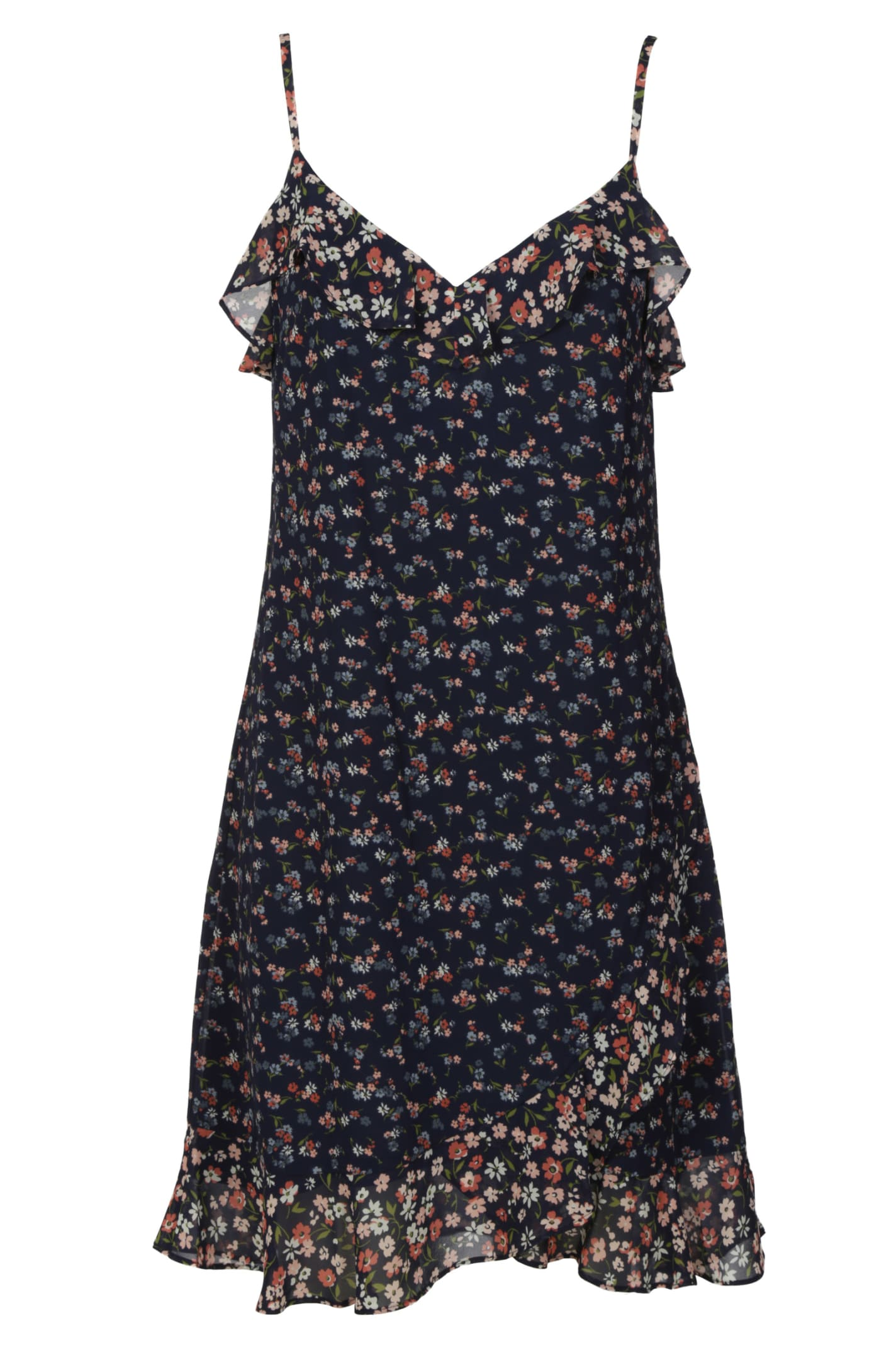 Buy Michael Kors Floral Print Sleeveless Dress online, shop Michael Kors with free shipping