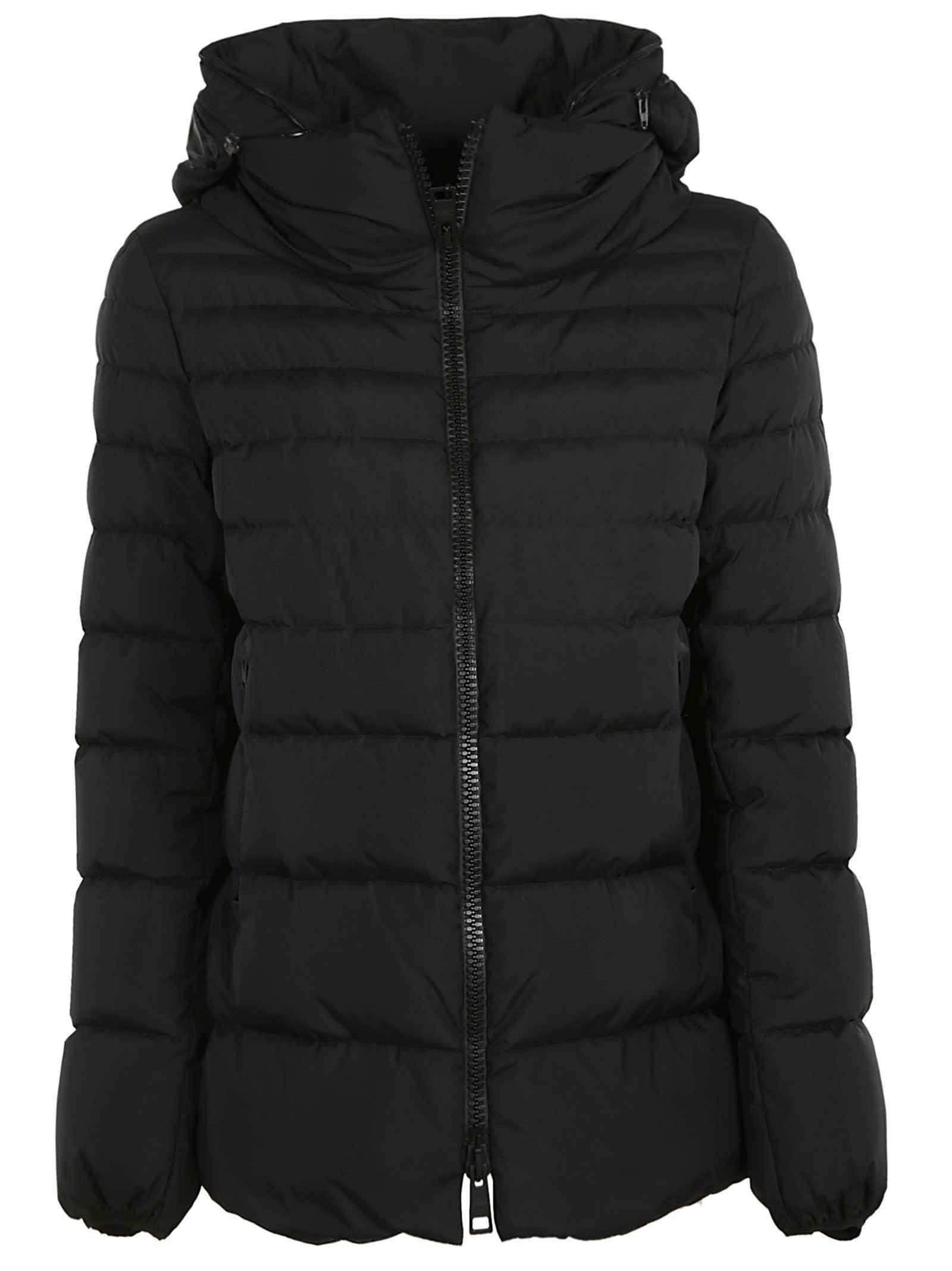 Herno Zipped Padded Hooded Jacket