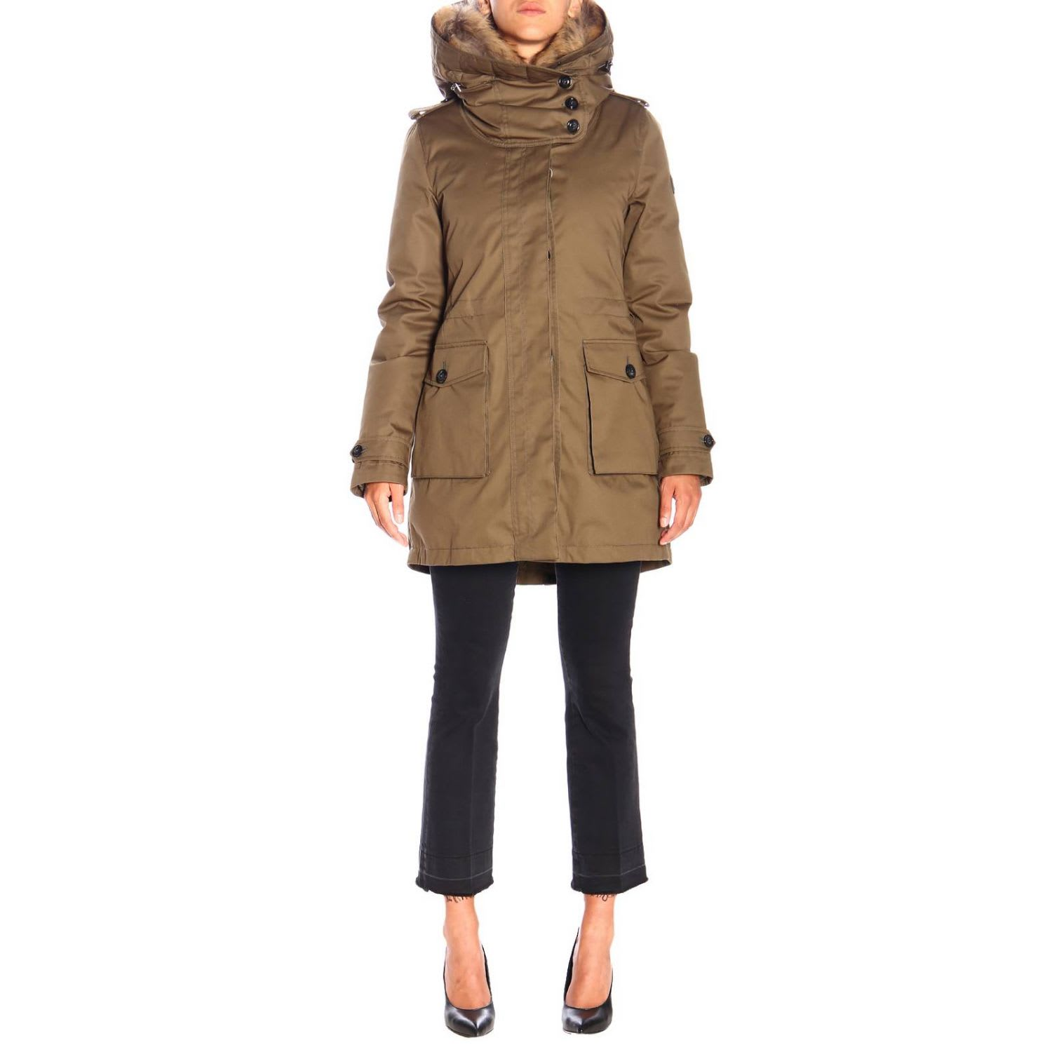 Photo of  Woolrich Jacket Jacket Women Woolrich- shop Woolrich jackets online sales