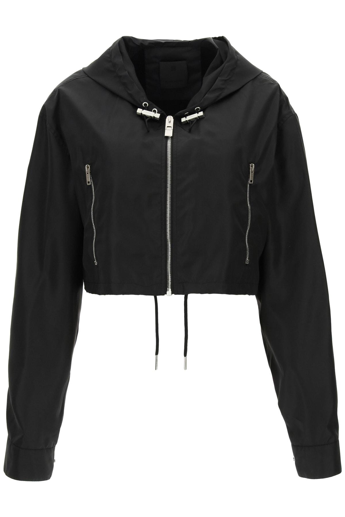 Givenchy Jackets CROPPED NYLON JACKET
