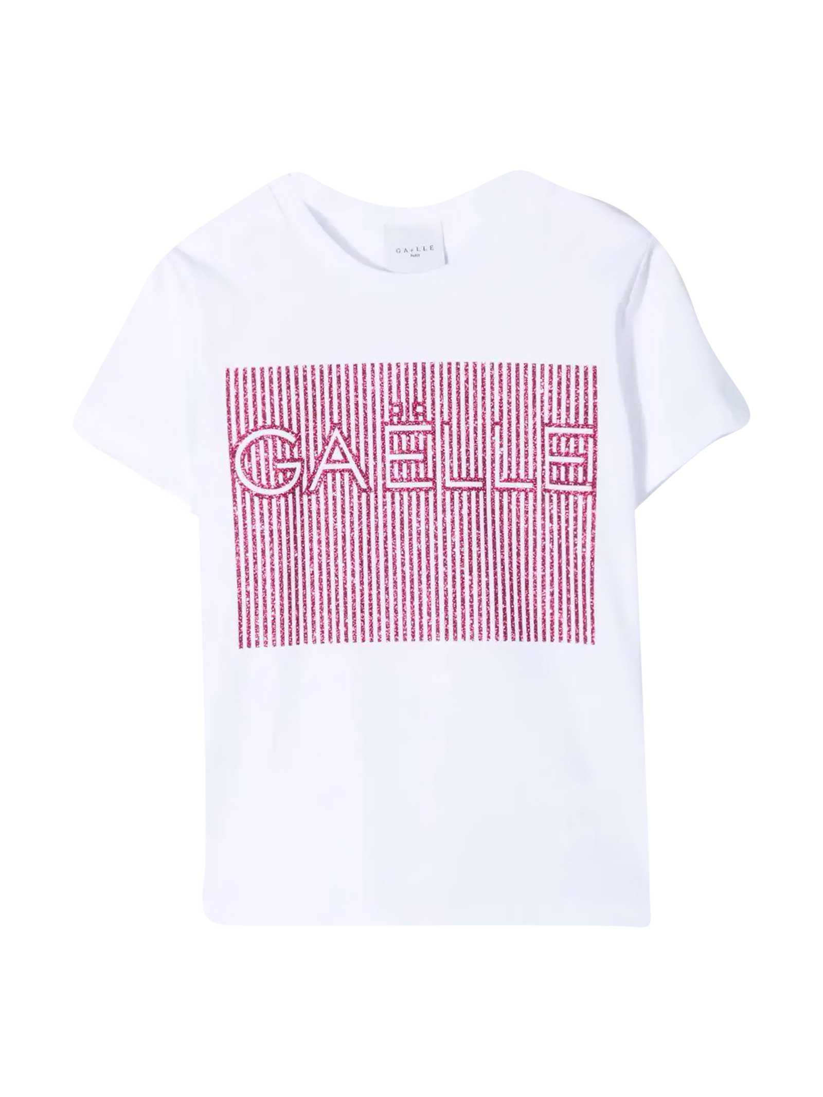 T-shirt With Glitter Details