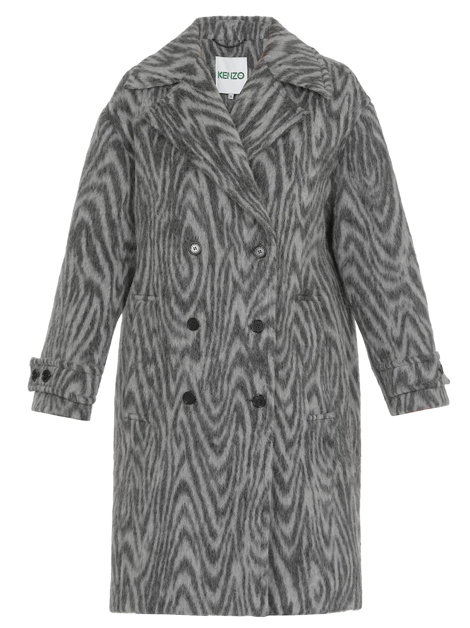 Kenzo Double-breasted Coat