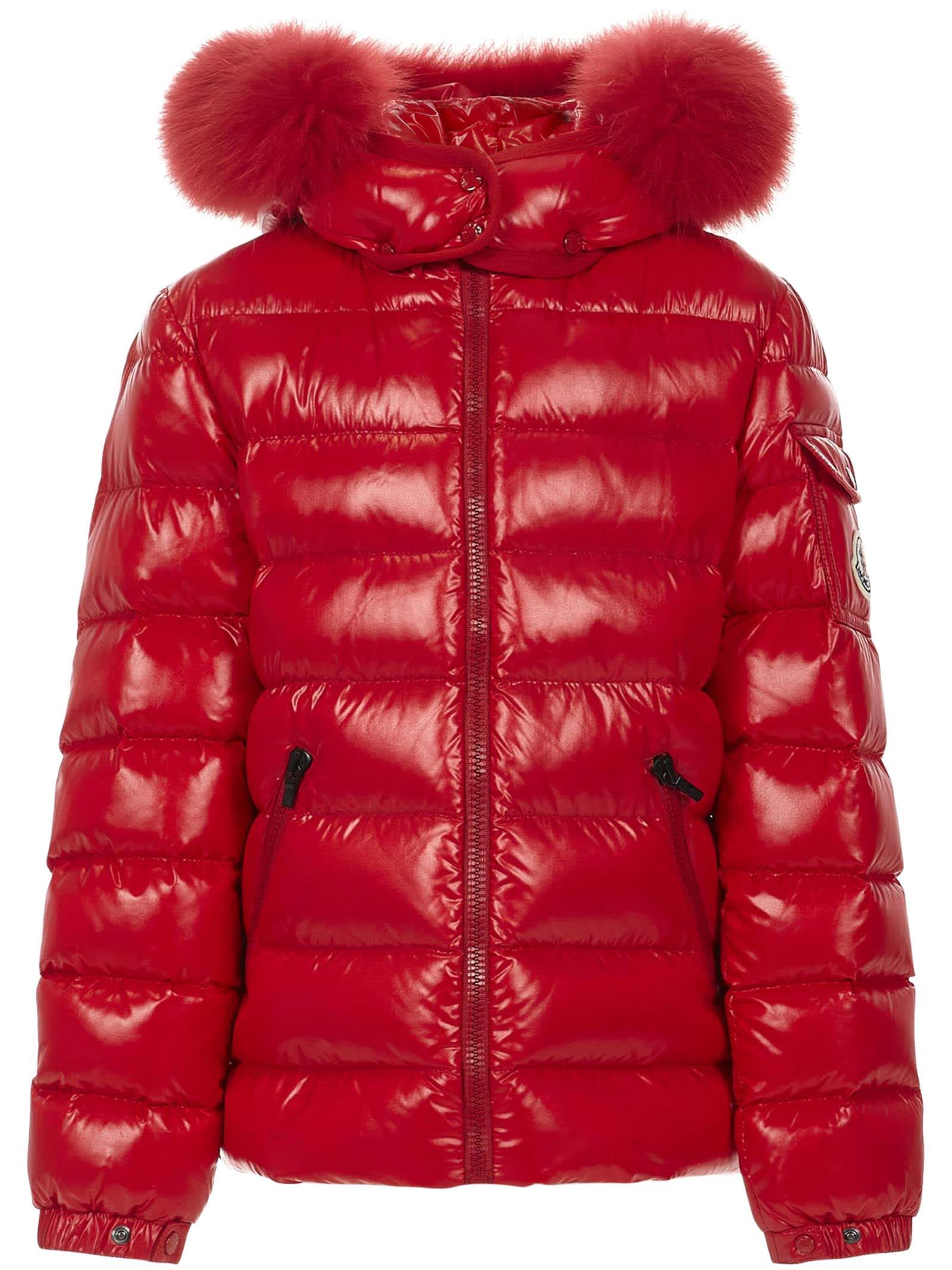 Moncler Enfant Bady Fur Down Jacket