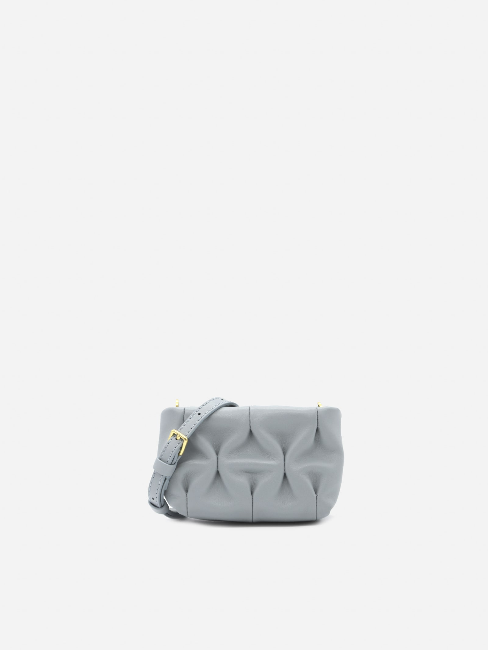 Ophelie Goodie Leather Shoulder Bag