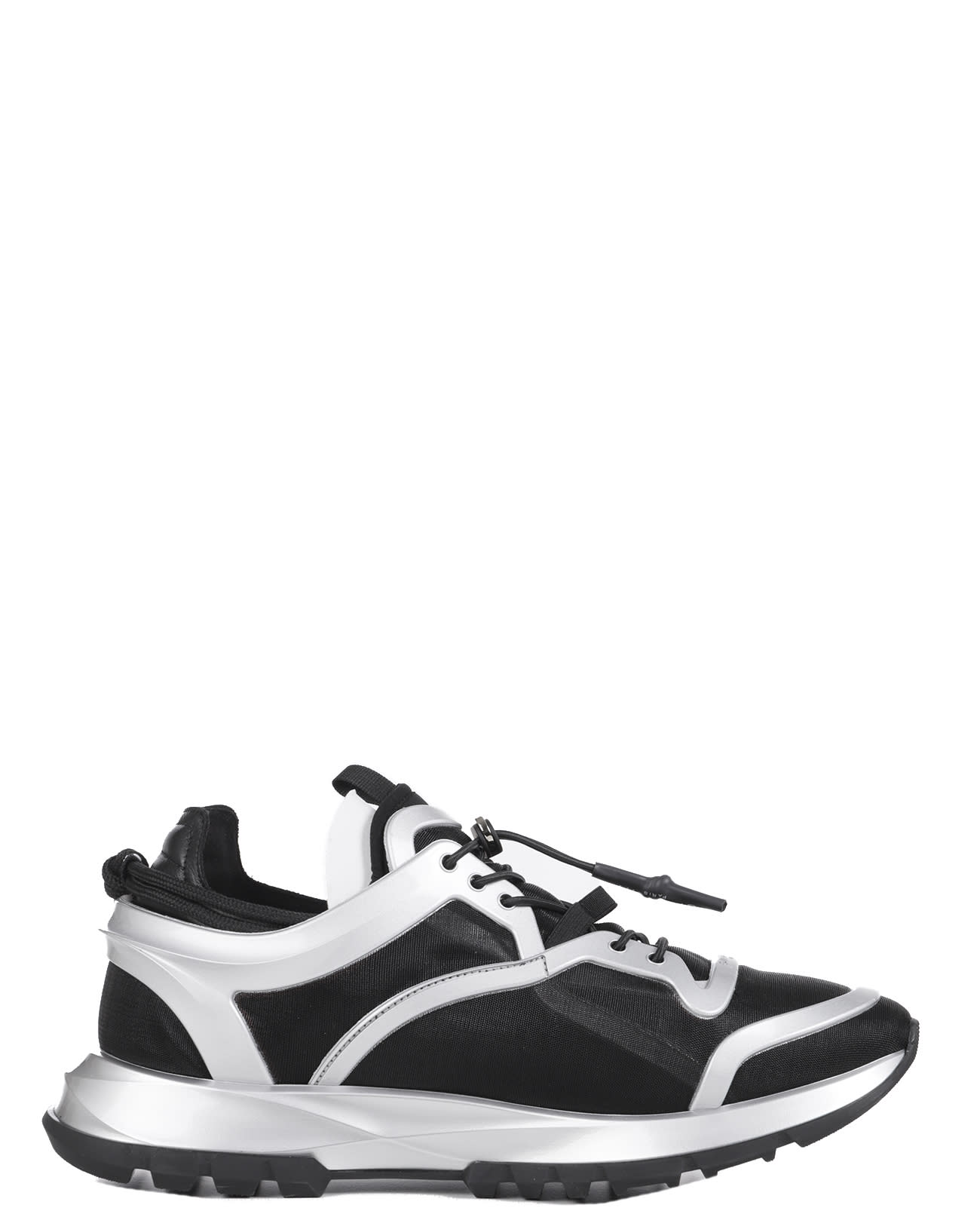 Givenchy Activewears BLACK SPECTRE RUNNER CAGE SNEAKERS