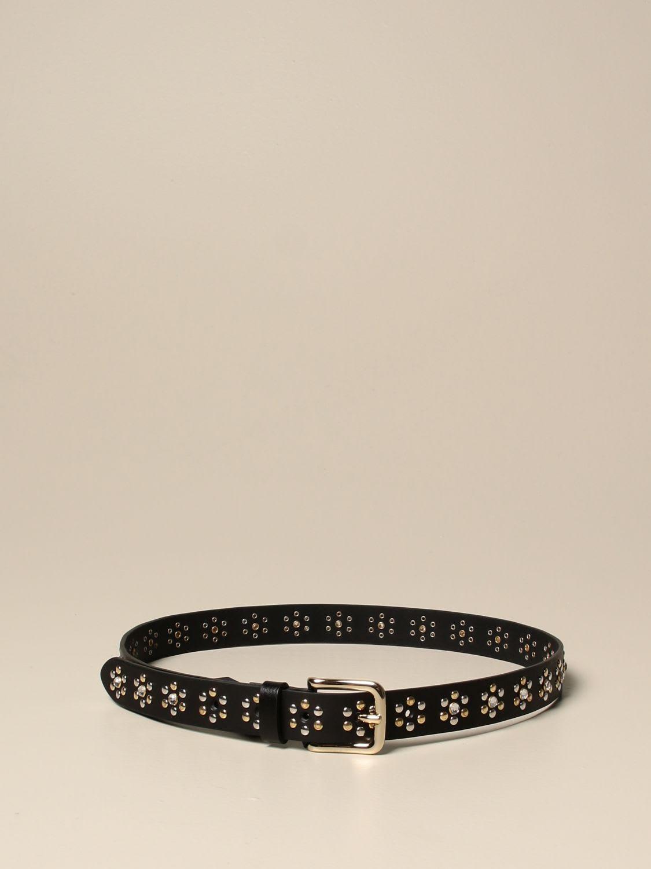 Hilfiger Denim Hilfiger Collection Belt Hilfiger Collection Leather Belt With Studs