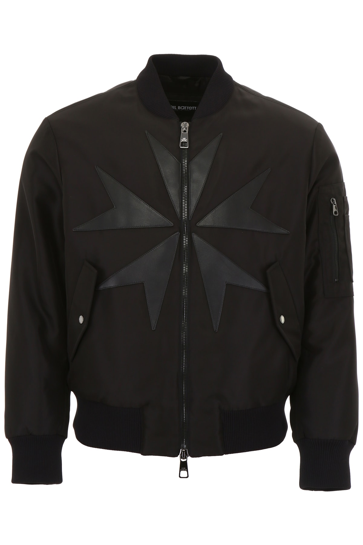 98c2d759b Neil Barrett Bomber Jacket With Patches