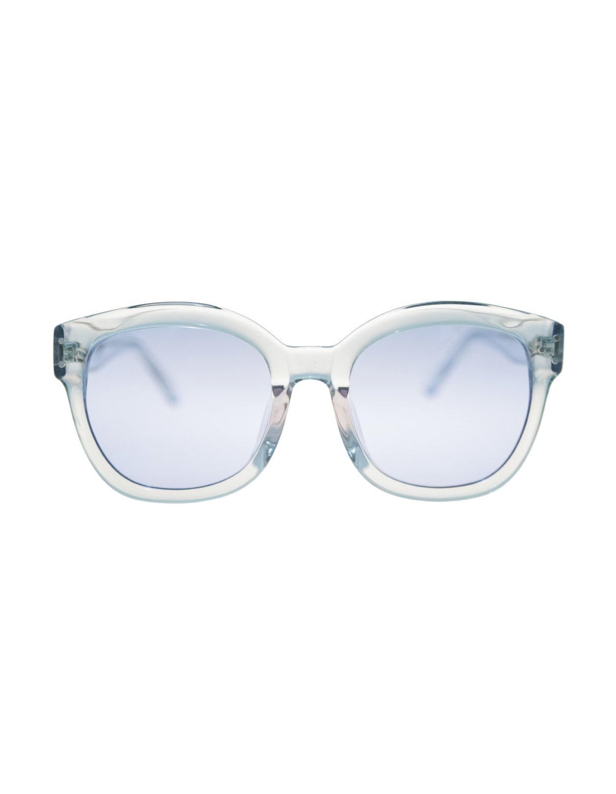 Unisex Light Blue Bellucci Sunglasses