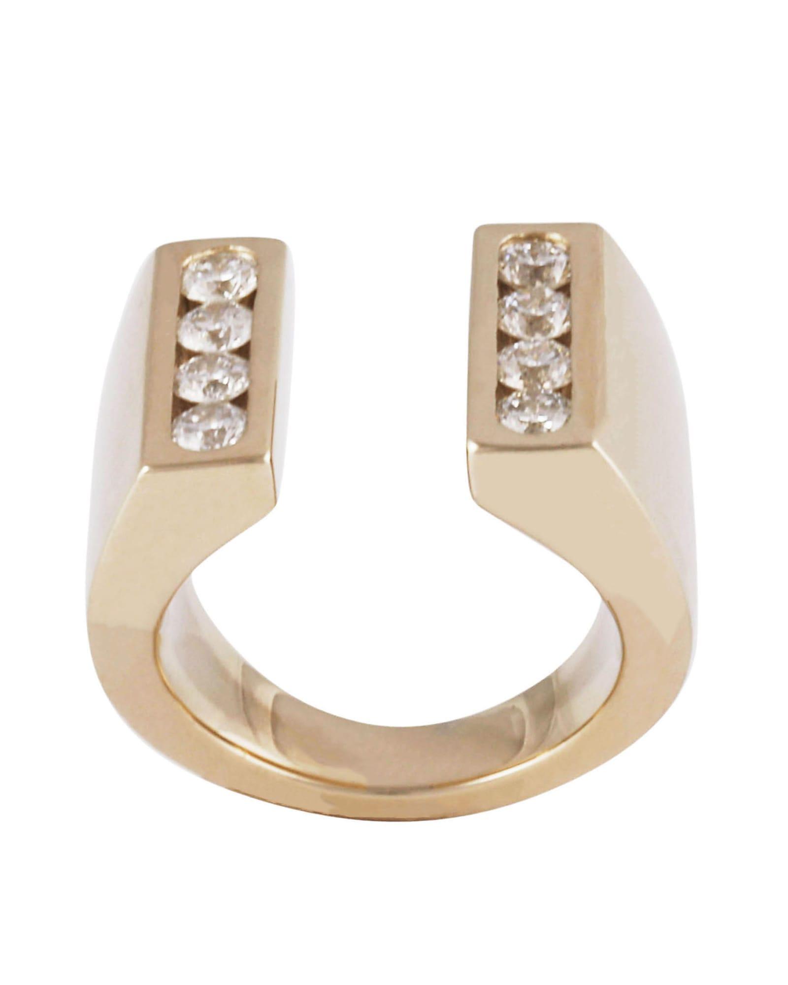Lo Spazio Jewelry Lo Spazio Diamond U Ring