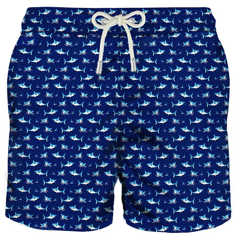 Micro Sharks Classic Swim Shorts