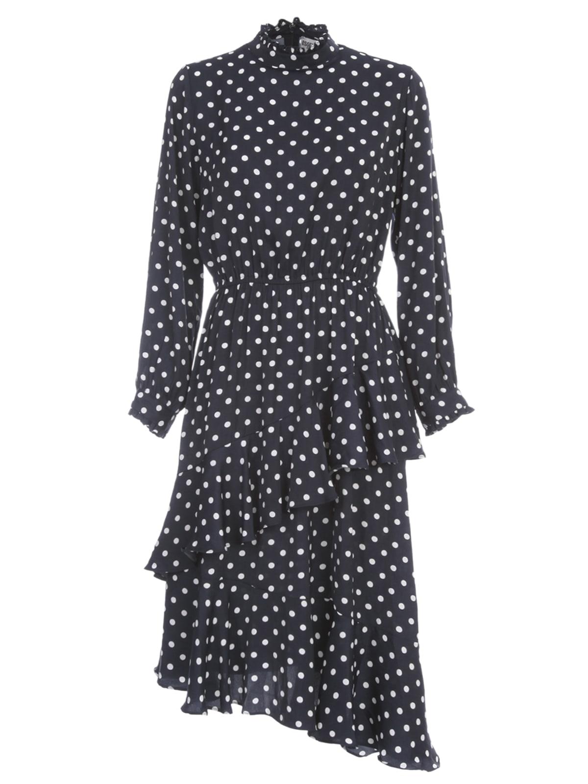 Buy Essentiel Antwerp Vazongas Asymmetric Dress L/s W/belt On Waist online, shop Essentiel Antwerp with free shipping