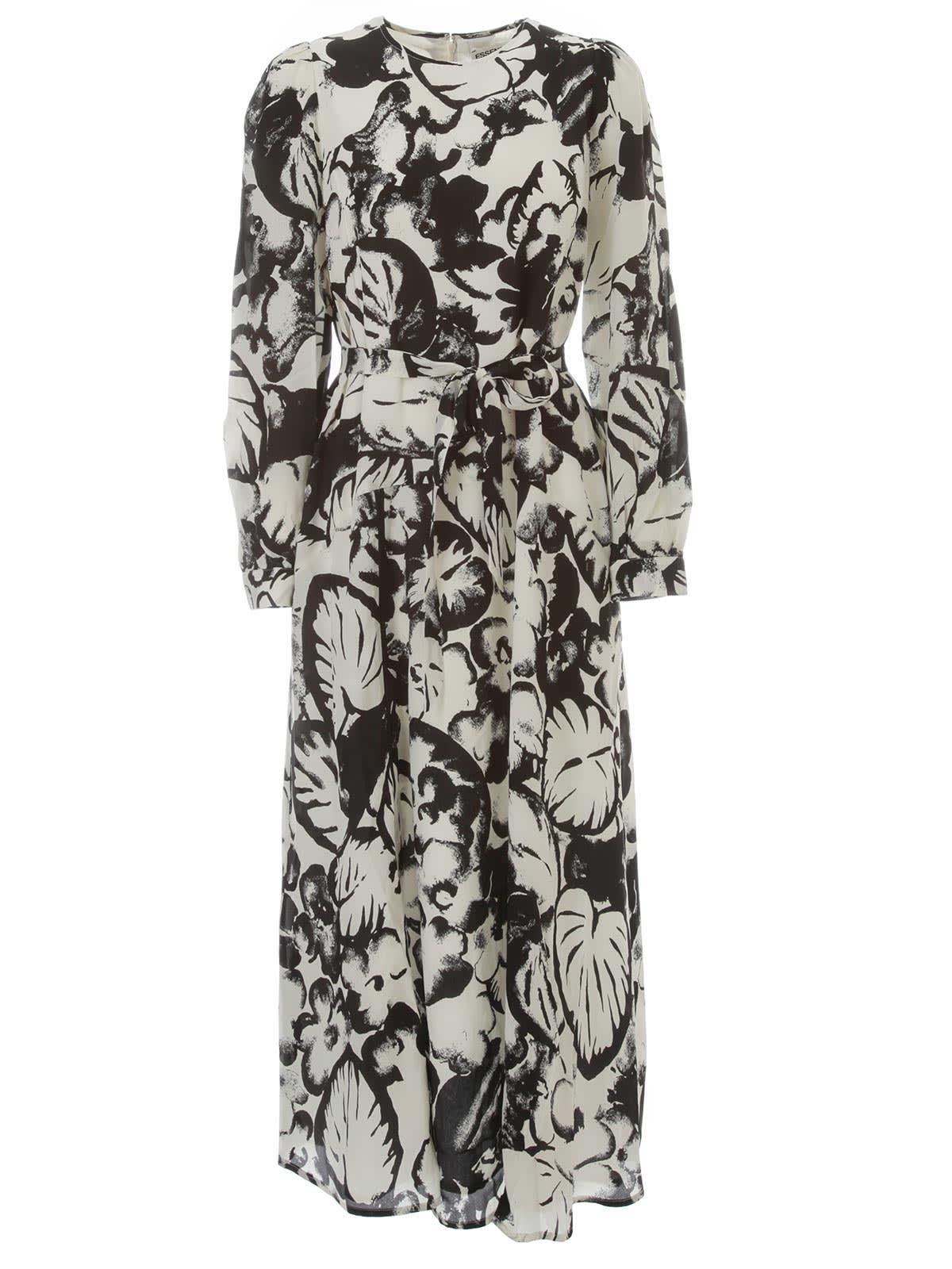 Buy Essentiel Antwerp Vogel Long Wide Dress L/s online, shop Essentiel Antwerp with free shipping