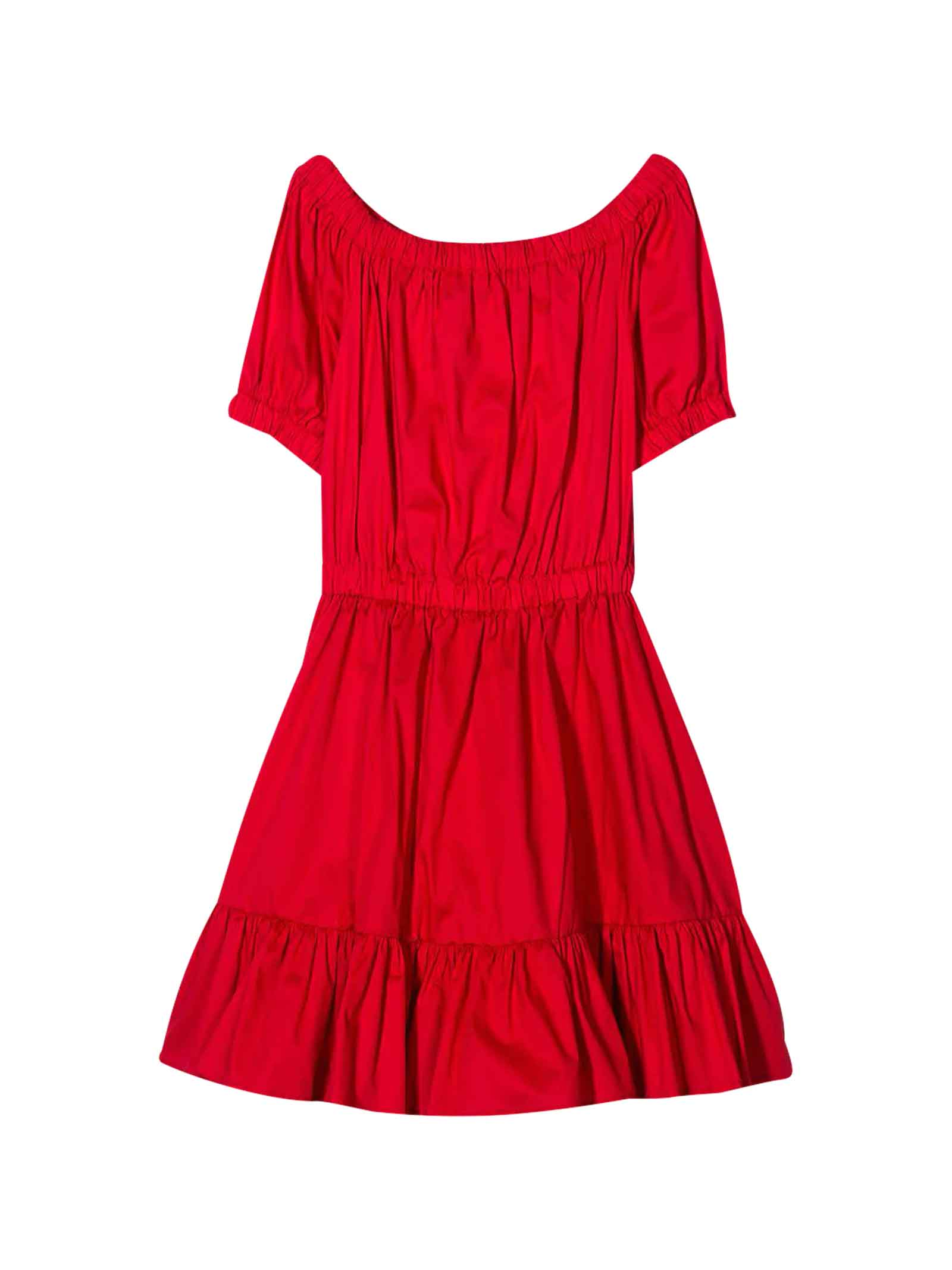 Buy Piccola Ludo Red Dress online, shop Piccola Ludo with free shipping