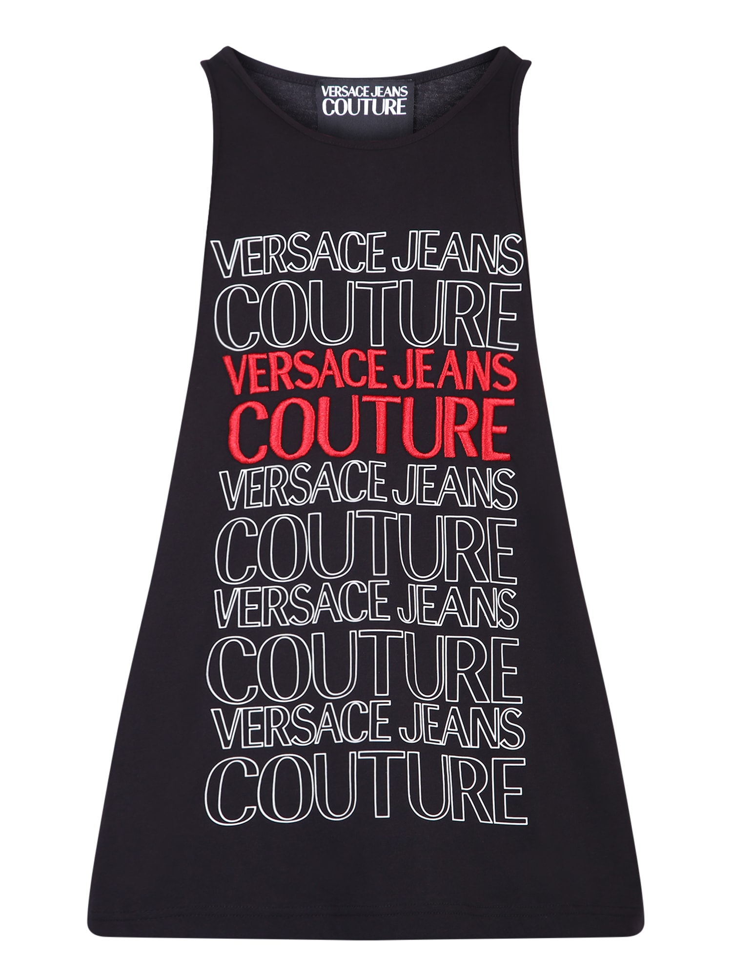 Versace Jeans Couture Cottons EMBROIDERED T-SHIRT
