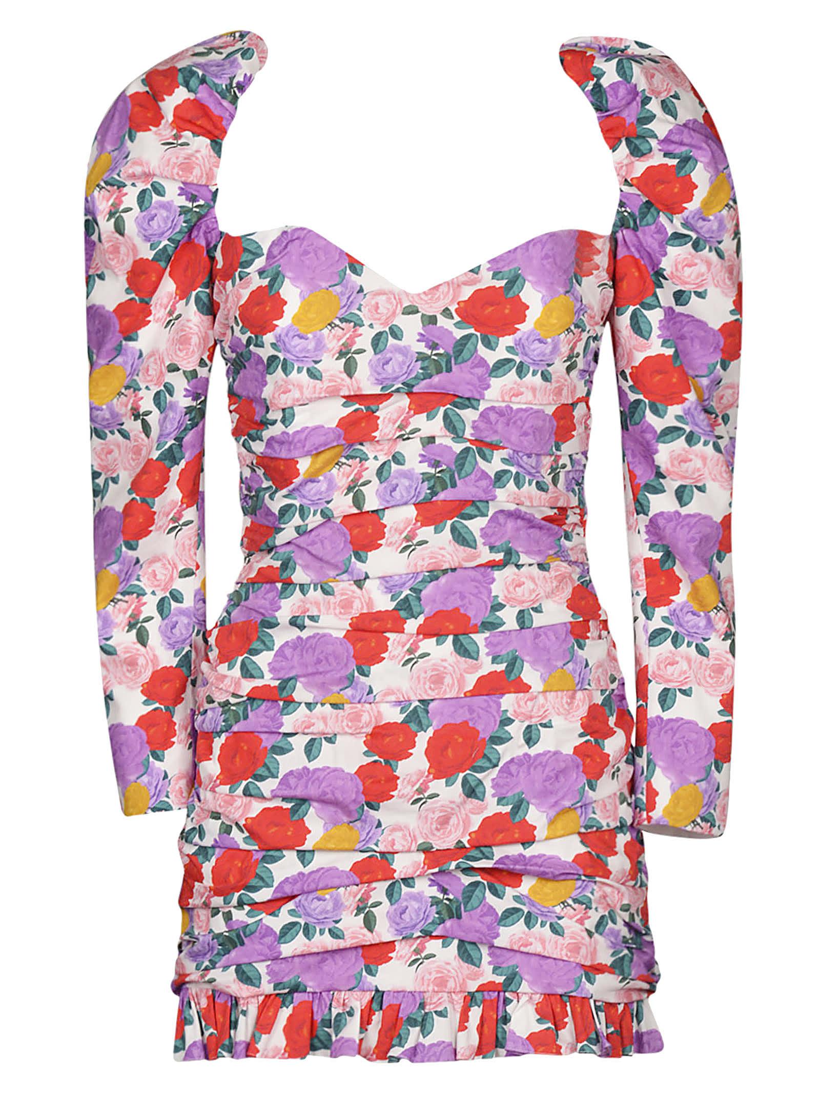 Buy Giuseppe di Morabito Rose Printed Dress online, shop Giuseppe di Morabito with free shipping