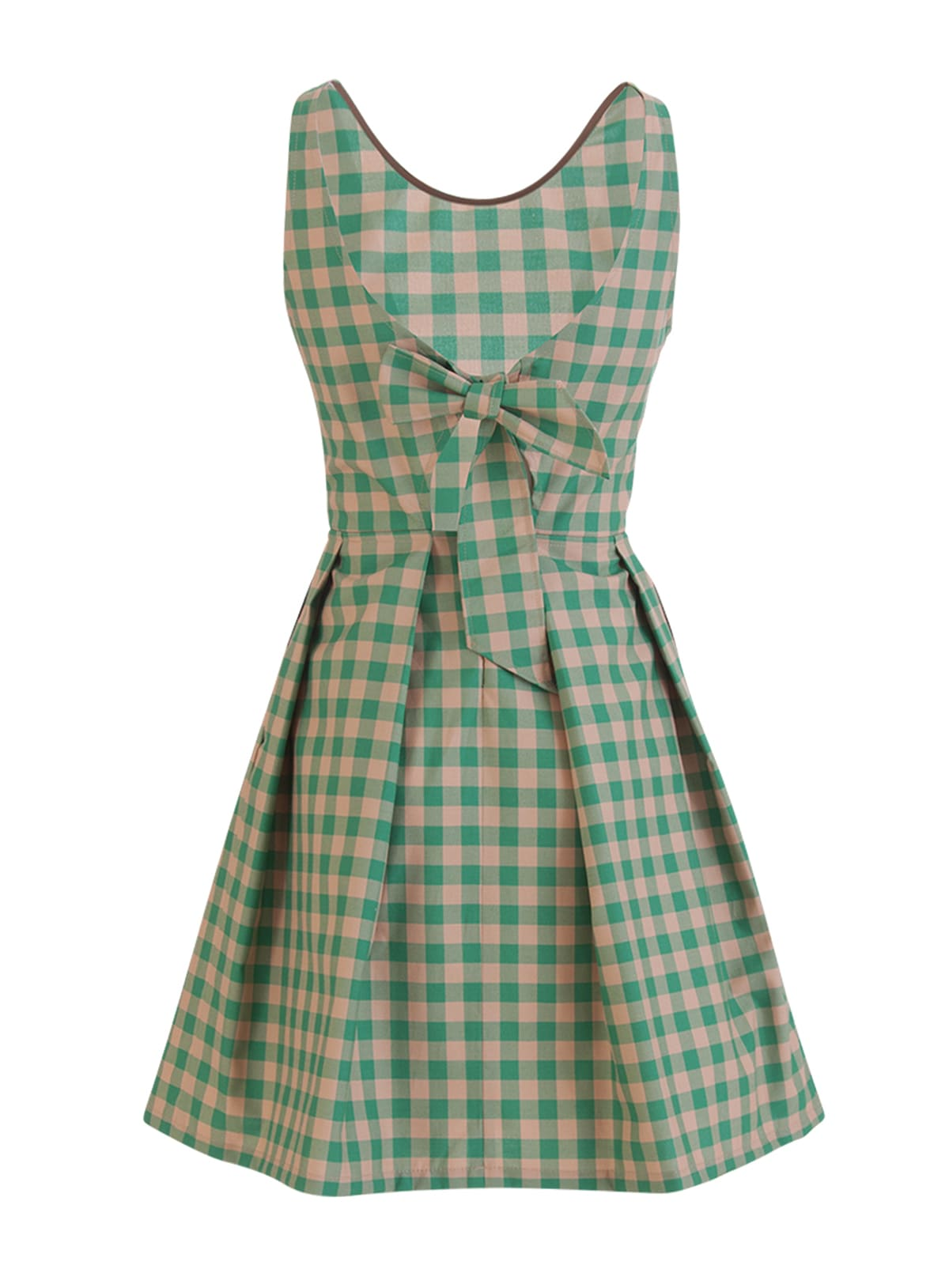 Buy Department Five Killder Checkered Dress online, shop Department 5 with free shipping