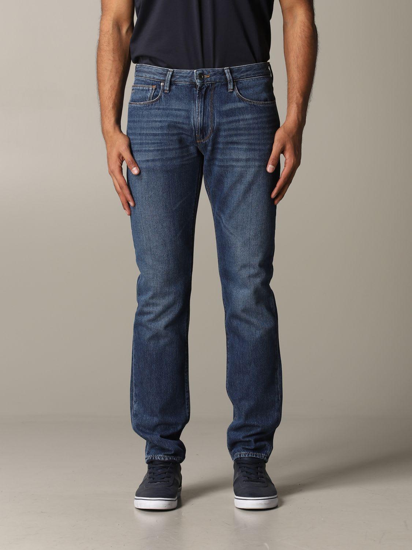 Emporio Armani Jeans Emporio Armani Slim Fit Jeans 8 Oz