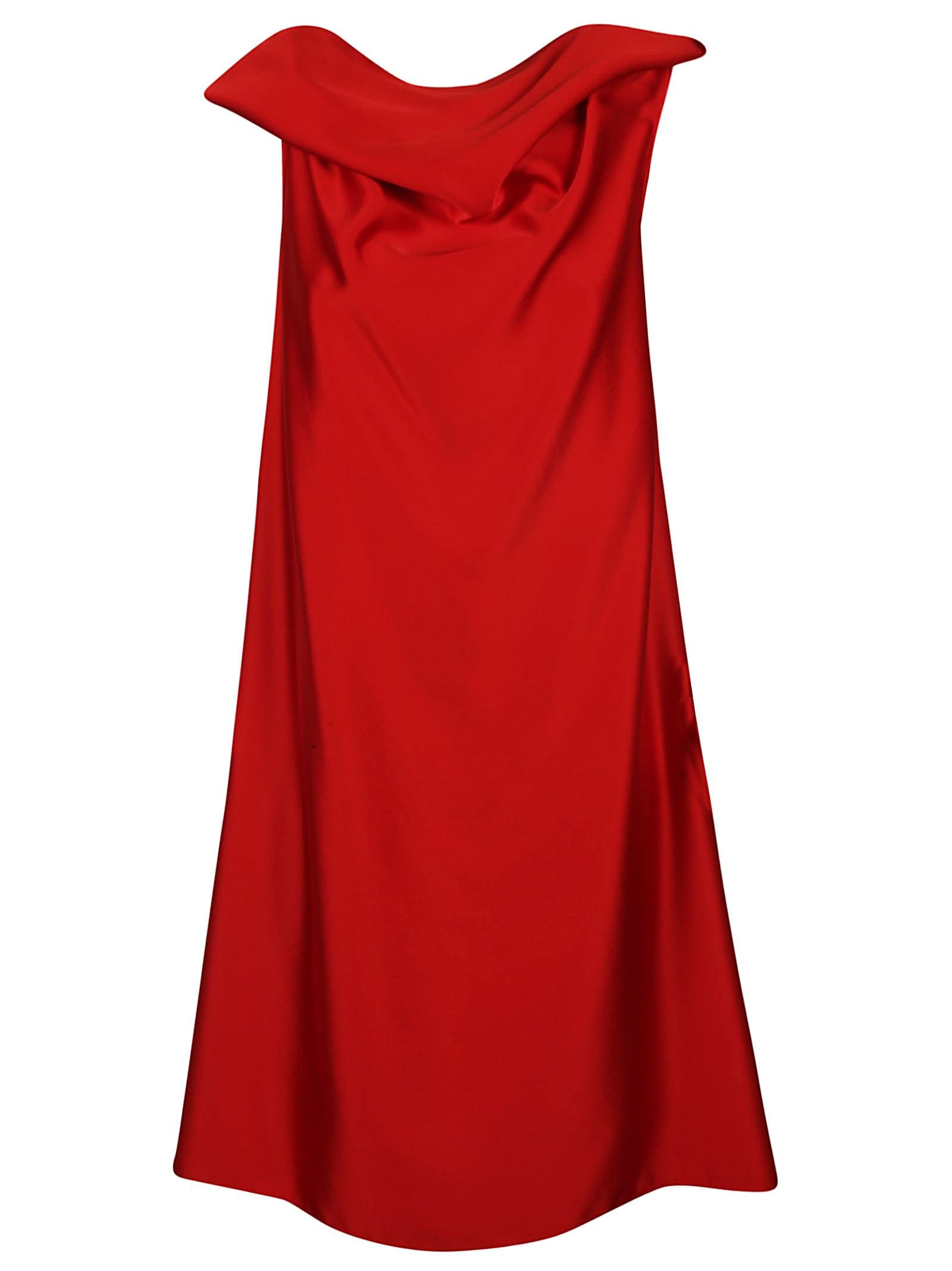 Neil Barrett Rear Zipped Dress