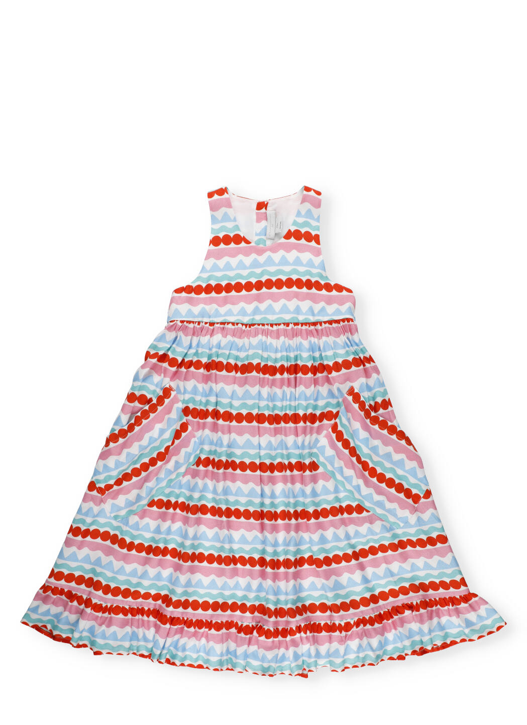 Buy Stella McCartney Multicolor Graphic Print Dress online, shop Stella McCartney with free shipping