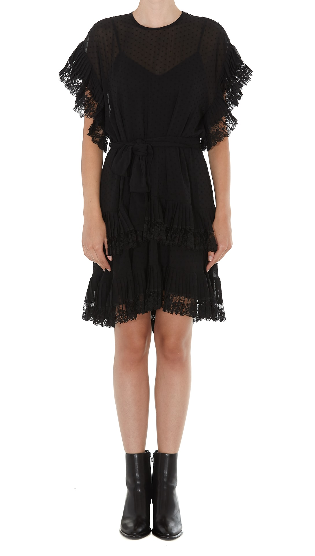 Zimmermann Mini Pleated Dress