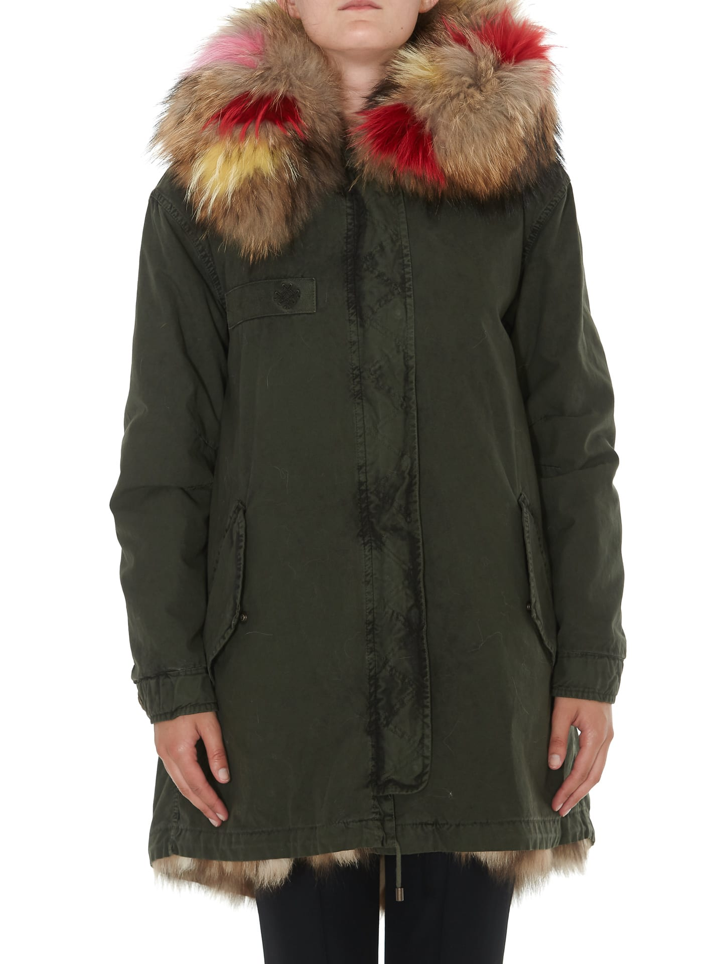 Photo of  Mr & Mrs Italy A-line Parka- shop Mr & Mrs Italy jackets online sales