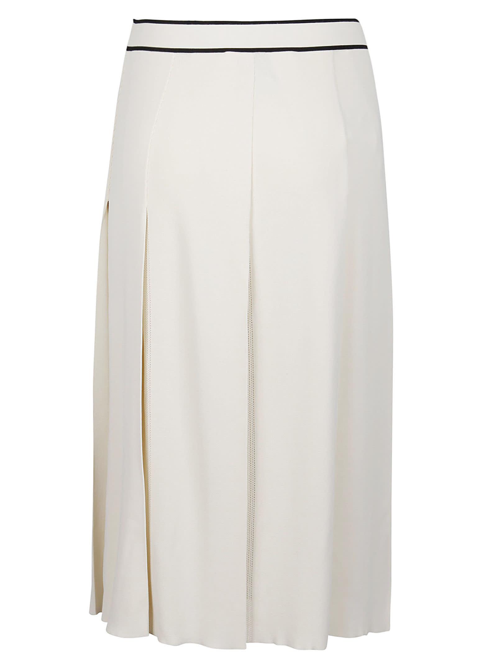 Gucci High-waist Pleated Skirt